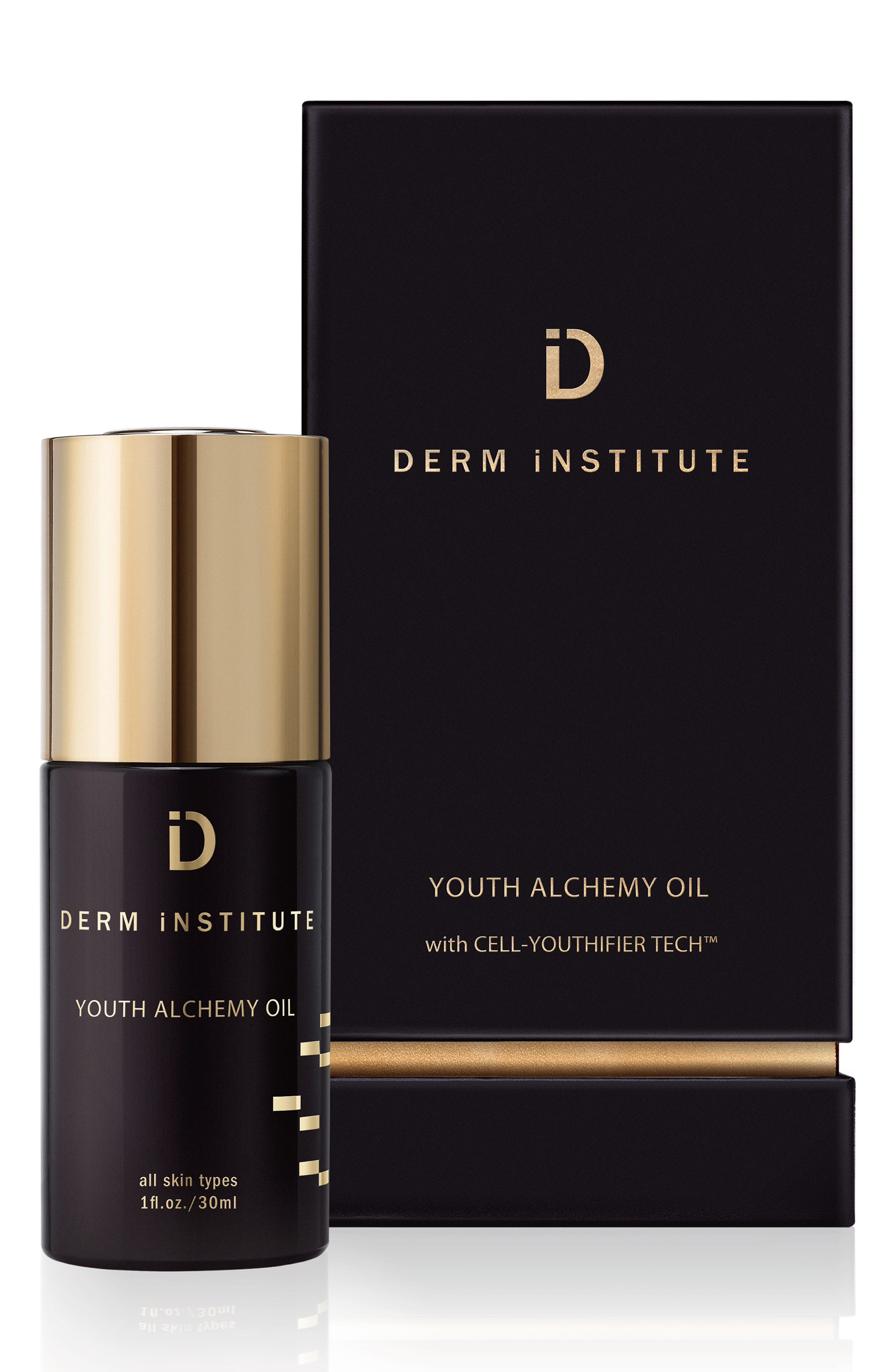 SPACE.NK.apothecary Derm Institute Youth Alchemy Oil,                             Alternate thumbnail 3, color,                             000