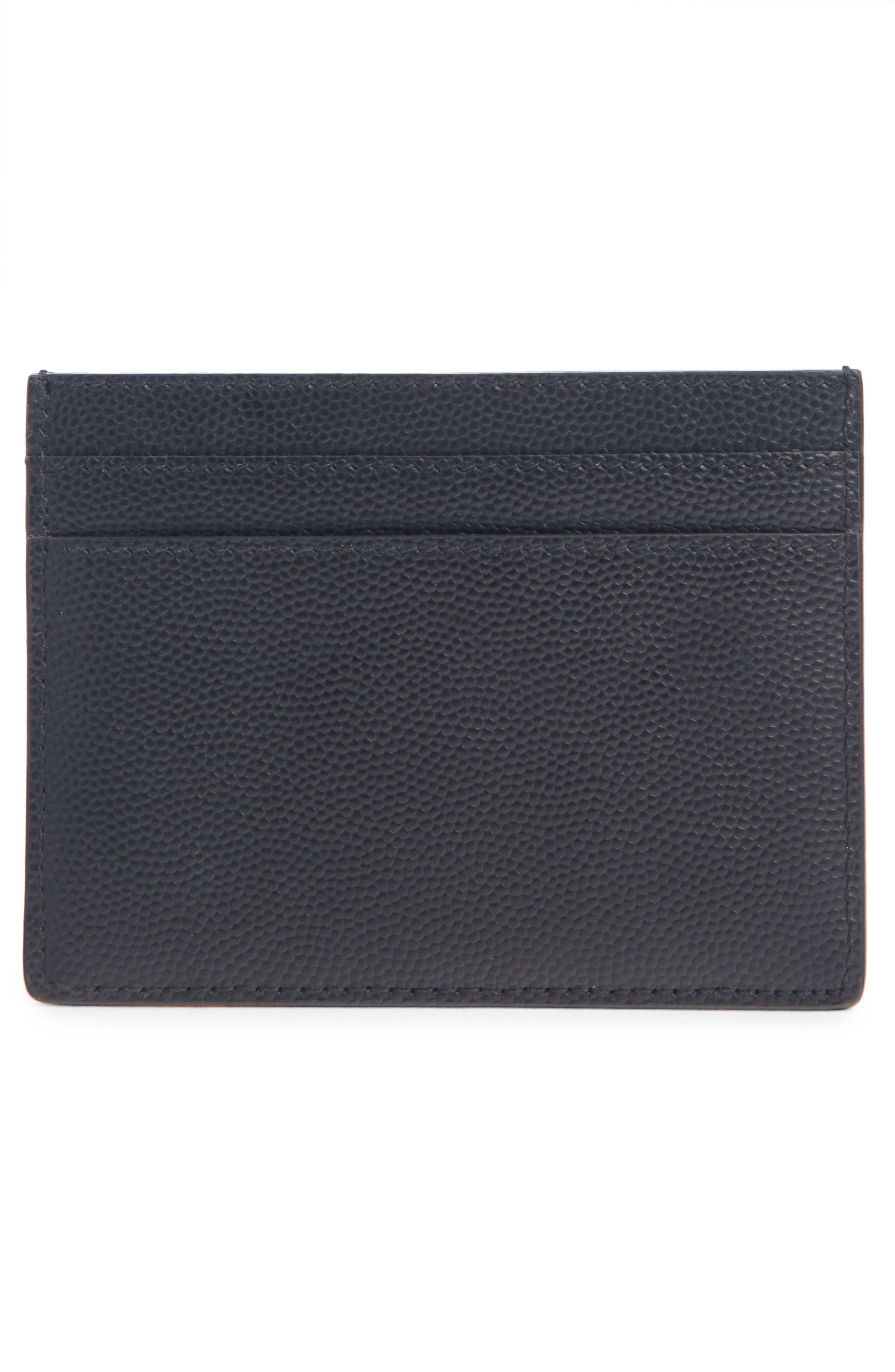 Classic Leather Card Case,                             Alternate thumbnail 2, color,                             001