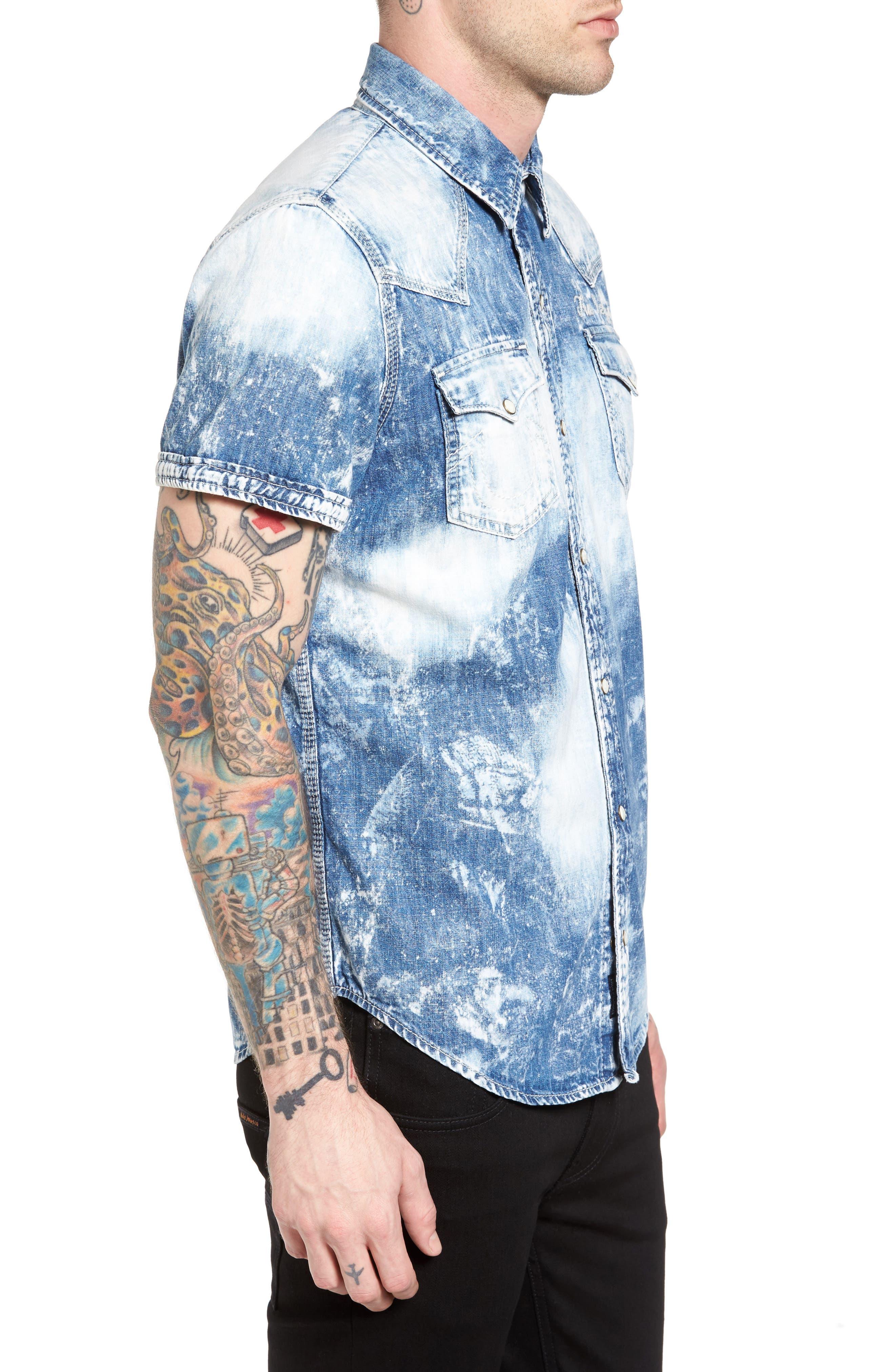 Ryan Runyon Rebel Long Sleeve Western Shirt,                             Alternate thumbnail 6, color,