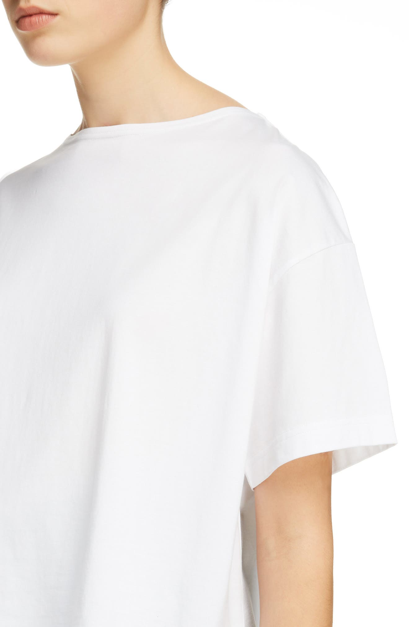 Marwig Boxy Tee,                             Alternate thumbnail 4, color,                             OPTIC WHITE