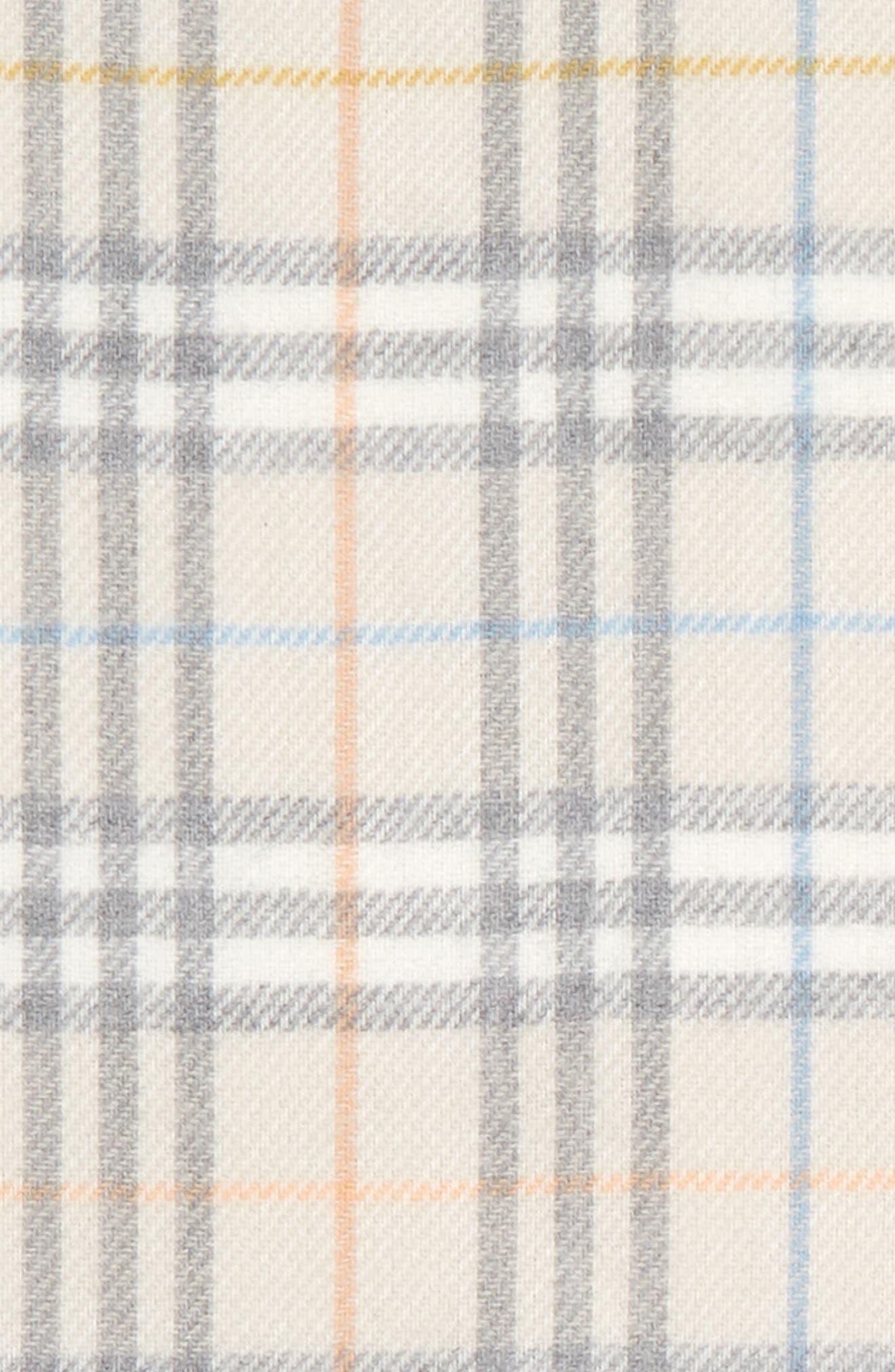 Merino Wool Blanket,                             Alternate thumbnail 2, color,                             IVORY IP CHK