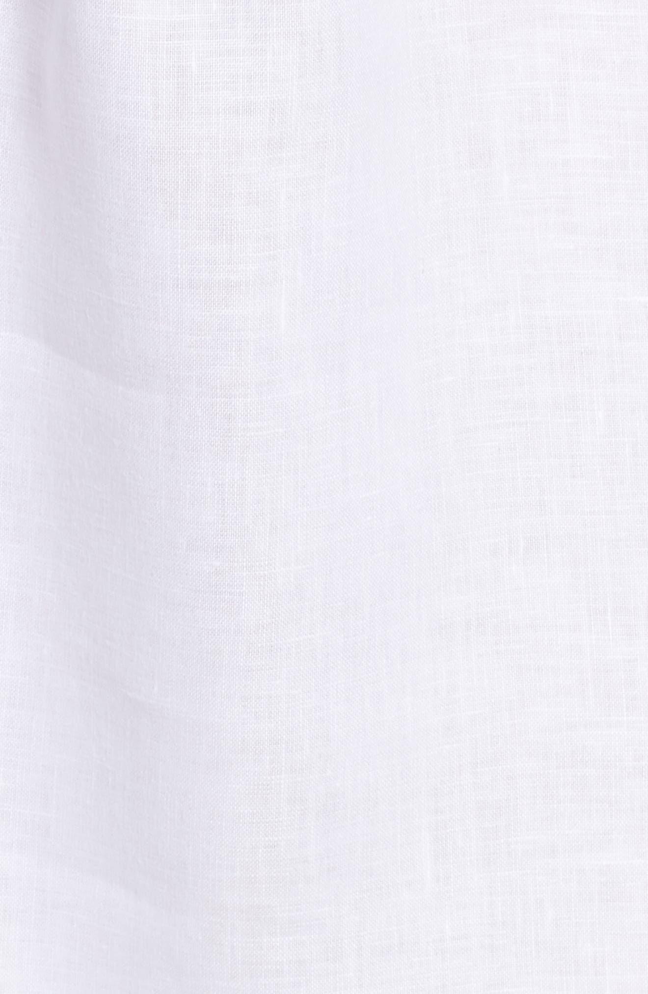 Linen Shirtdress,                             Alternate thumbnail 10, color,