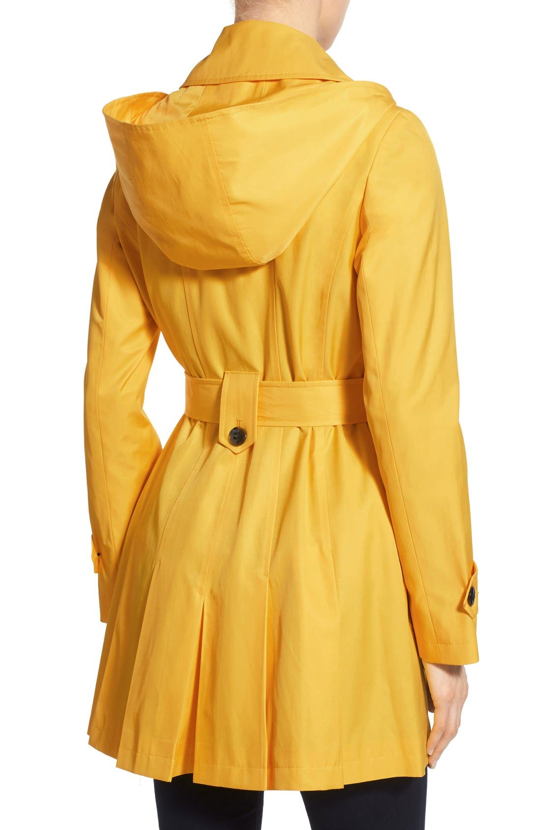 'Scarpa' Hooded Single Breasted Trench Coat,                             Alternate thumbnail 32, color,