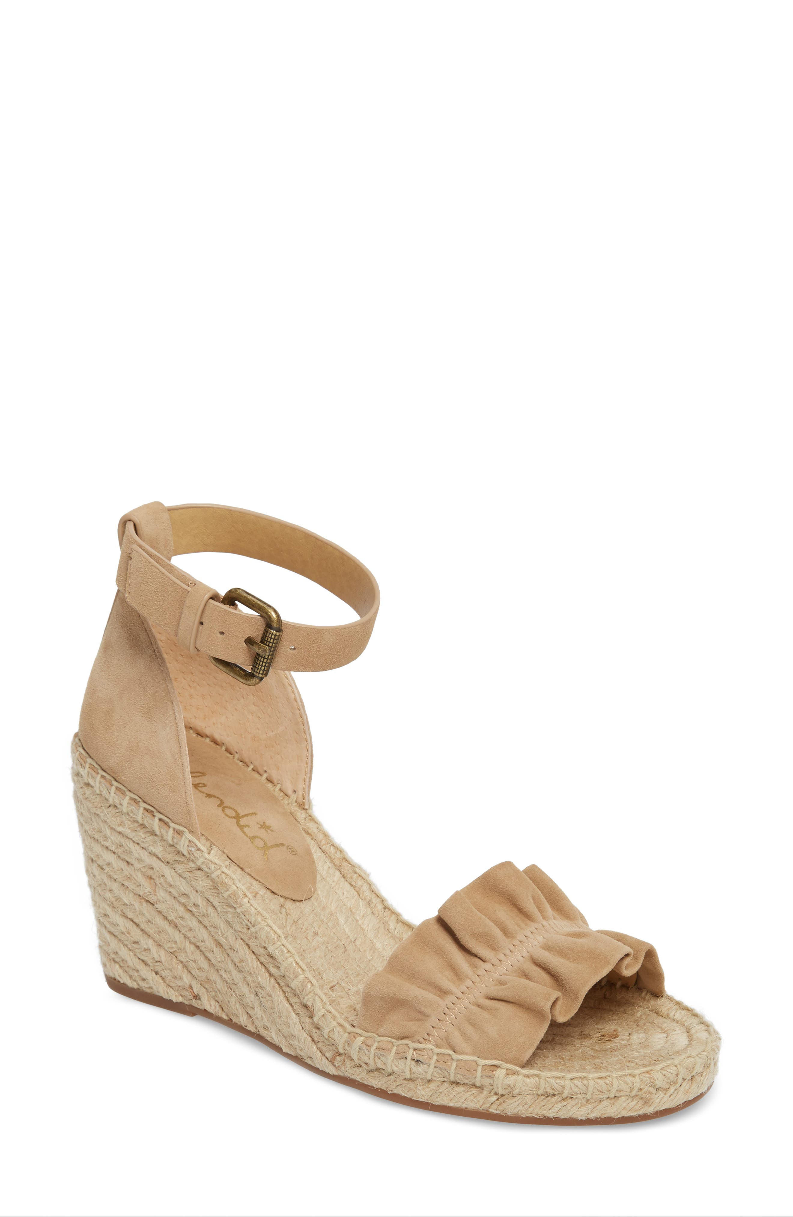 Bedford Espadrille Wedge Sandal,                             Main thumbnail 1, color,                             021