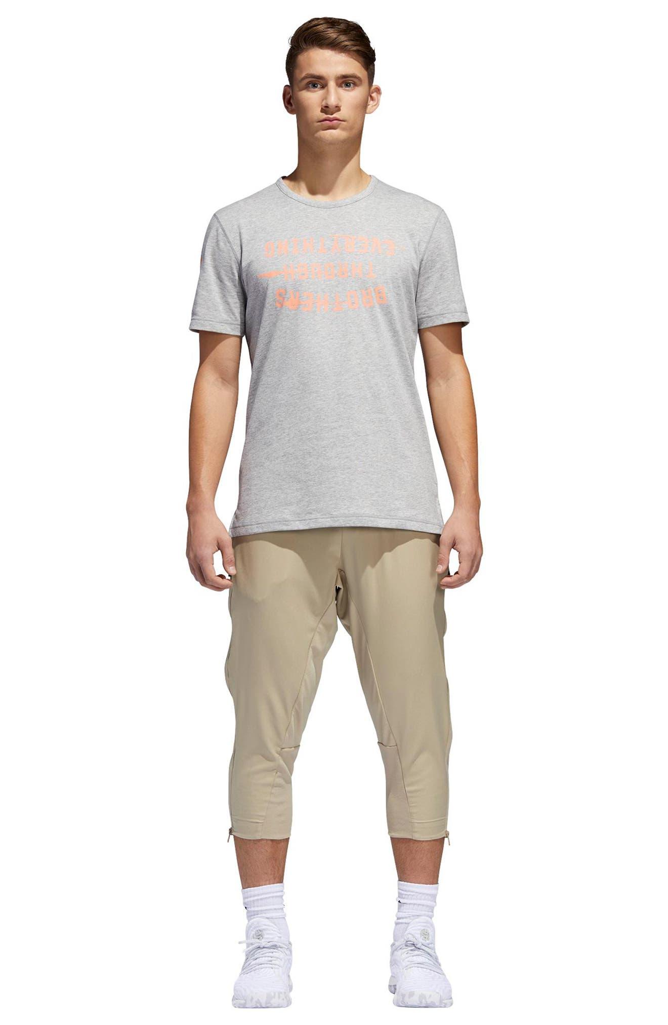 Harden Brand Slogan T-Shirt,                             Alternate thumbnail 6, color,