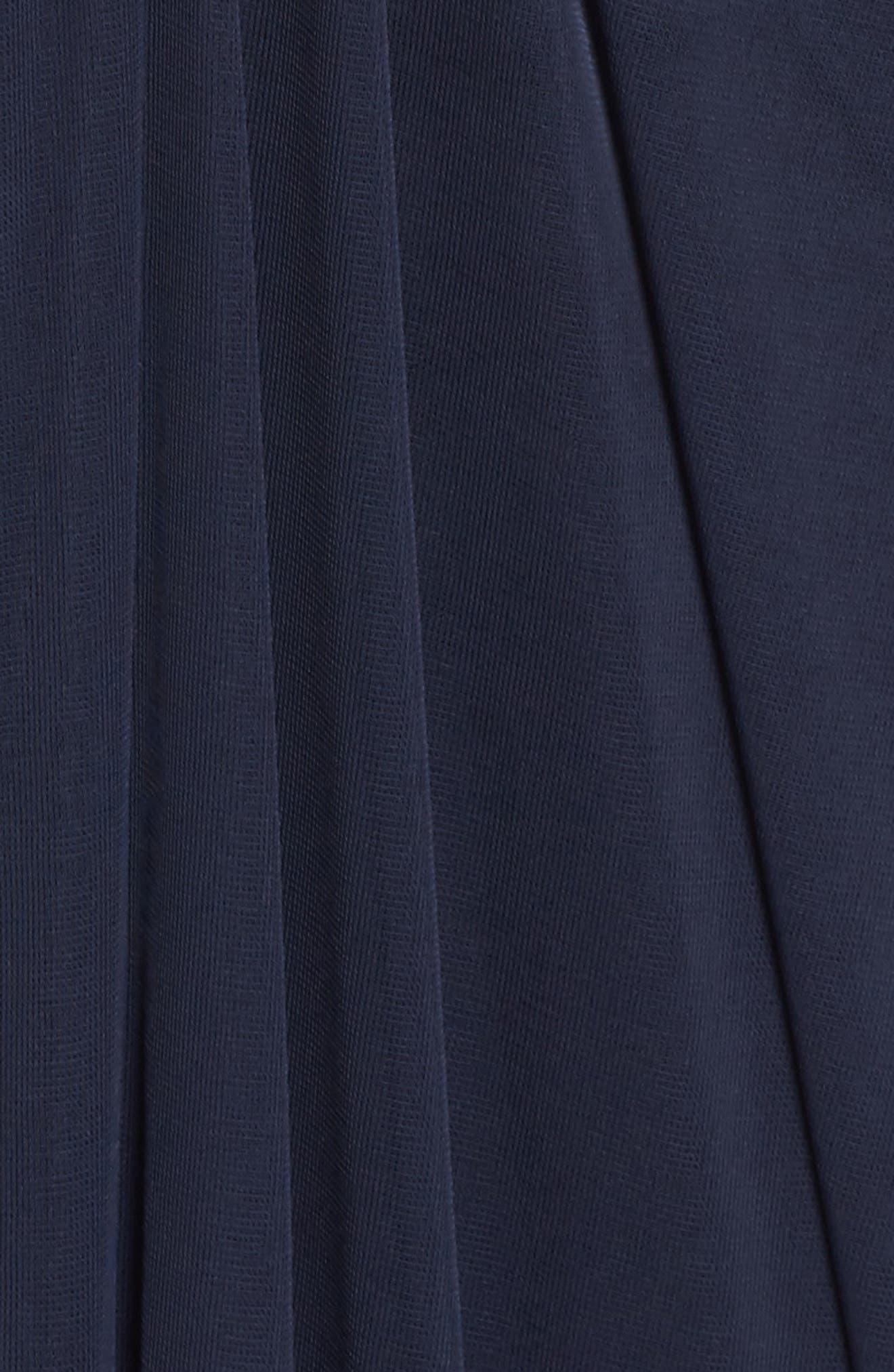 Lace Yoke Drape Gown,                             Alternate thumbnail 12, color,