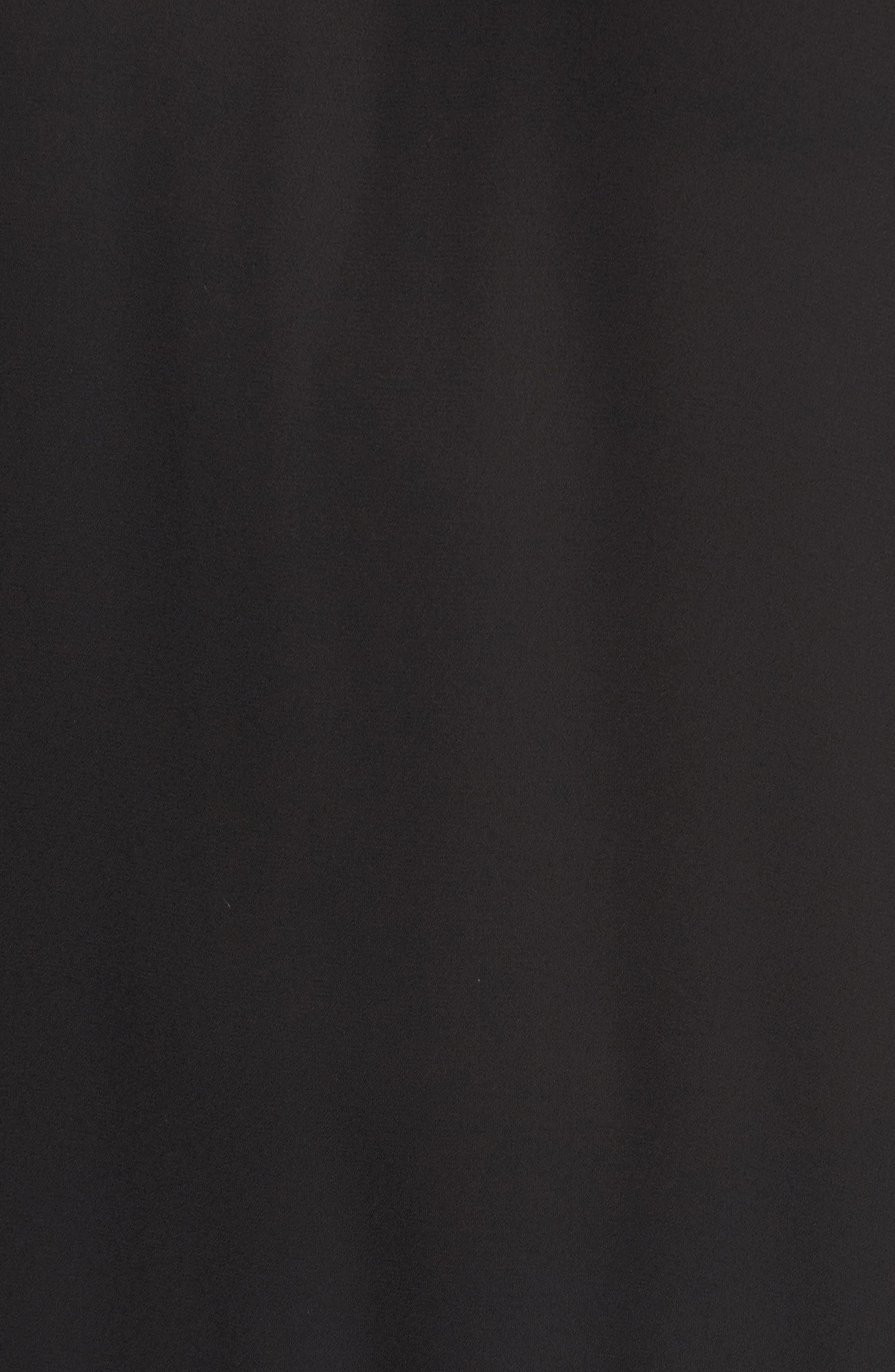 Drop Waist Midi Dress,                             Alternate thumbnail 5, color,                             001