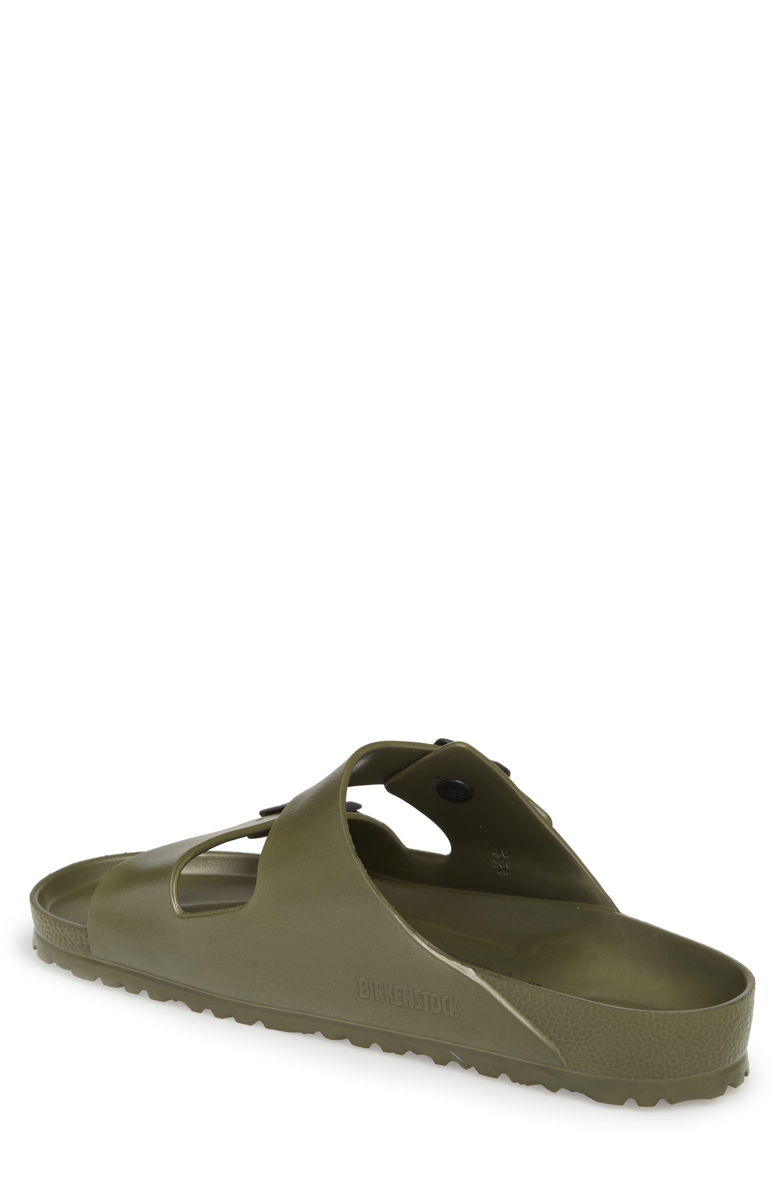 'Essentials - Arizona EVA' Waterproof Slide Sandal,                             Alternate thumbnail 3, color,                             GREEN