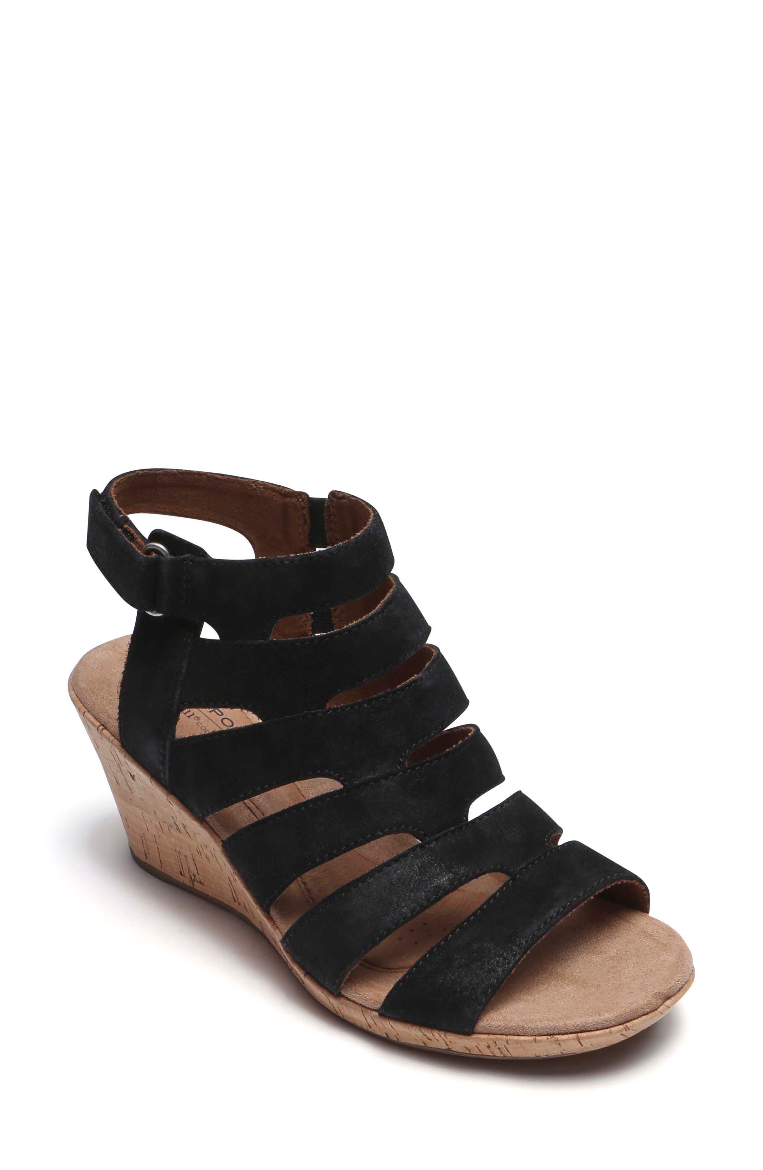 Janna Asymmetrical Sandal,                             Main thumbnail 1, color,                             001