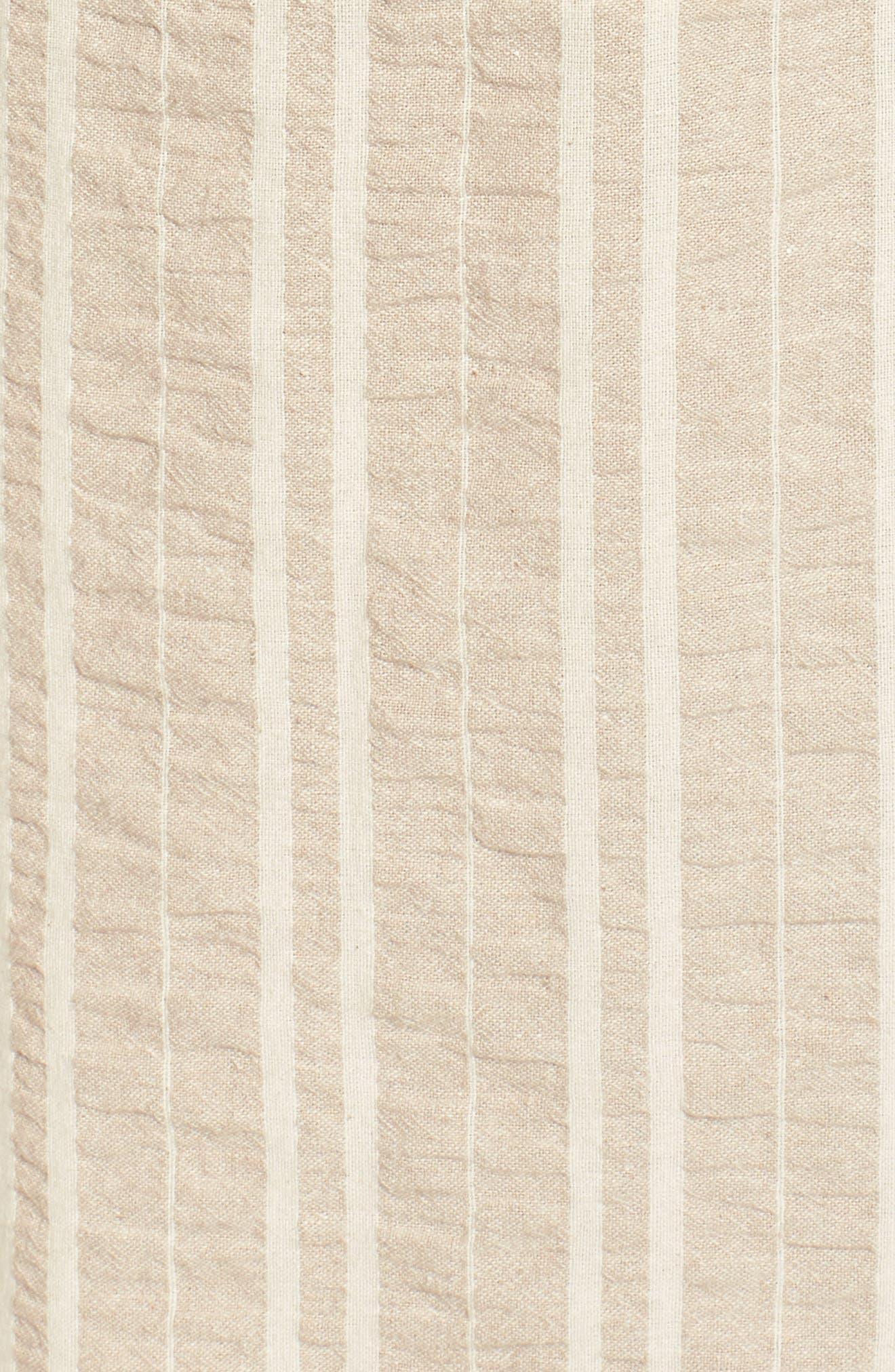 Stella Stripe Knot Front Jumpsuit,                             Alternate thumbnail 5, color,