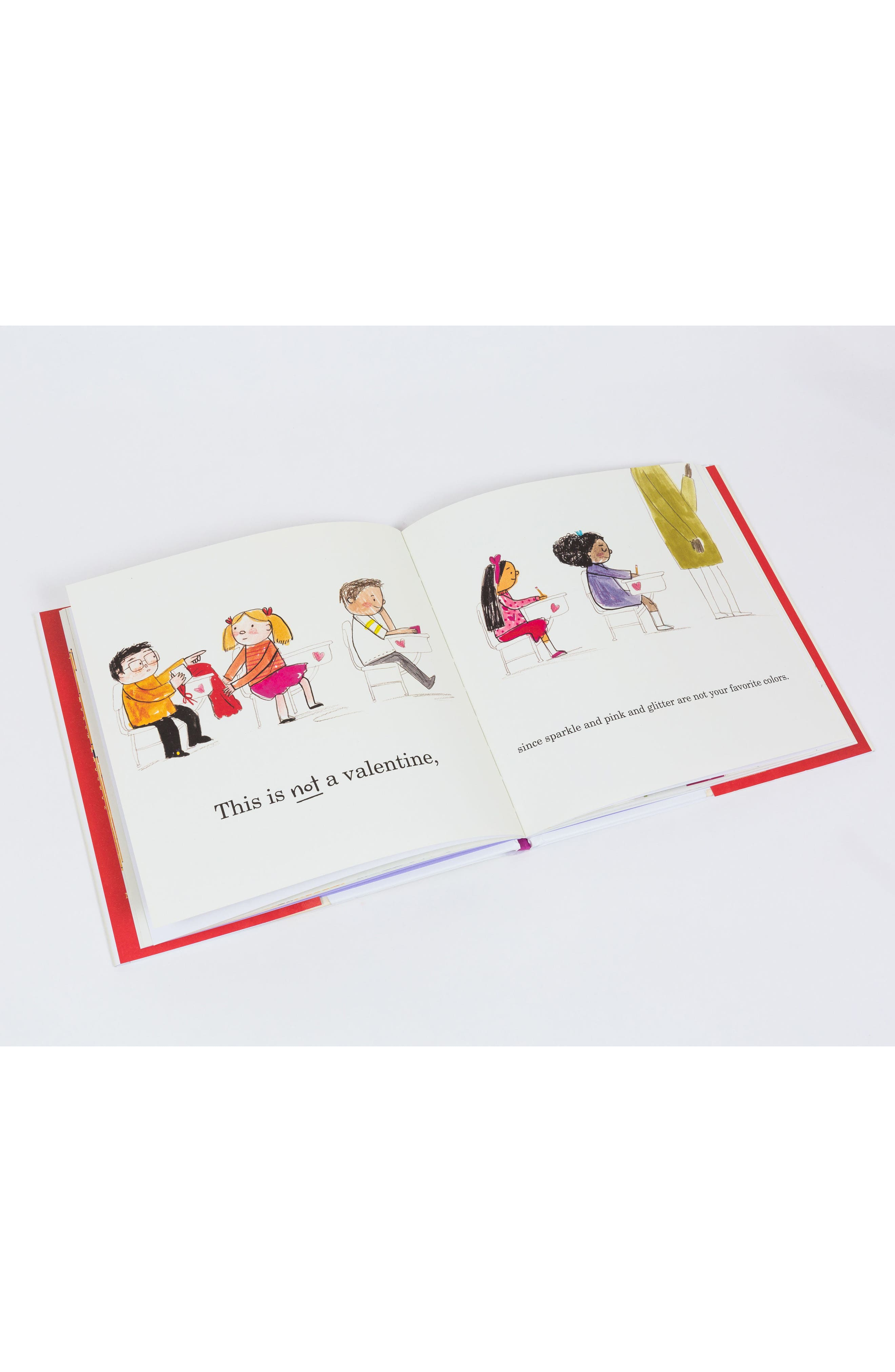 'This Is Not A Valentine' Book,                             Alternate thumbnail 7, color,
