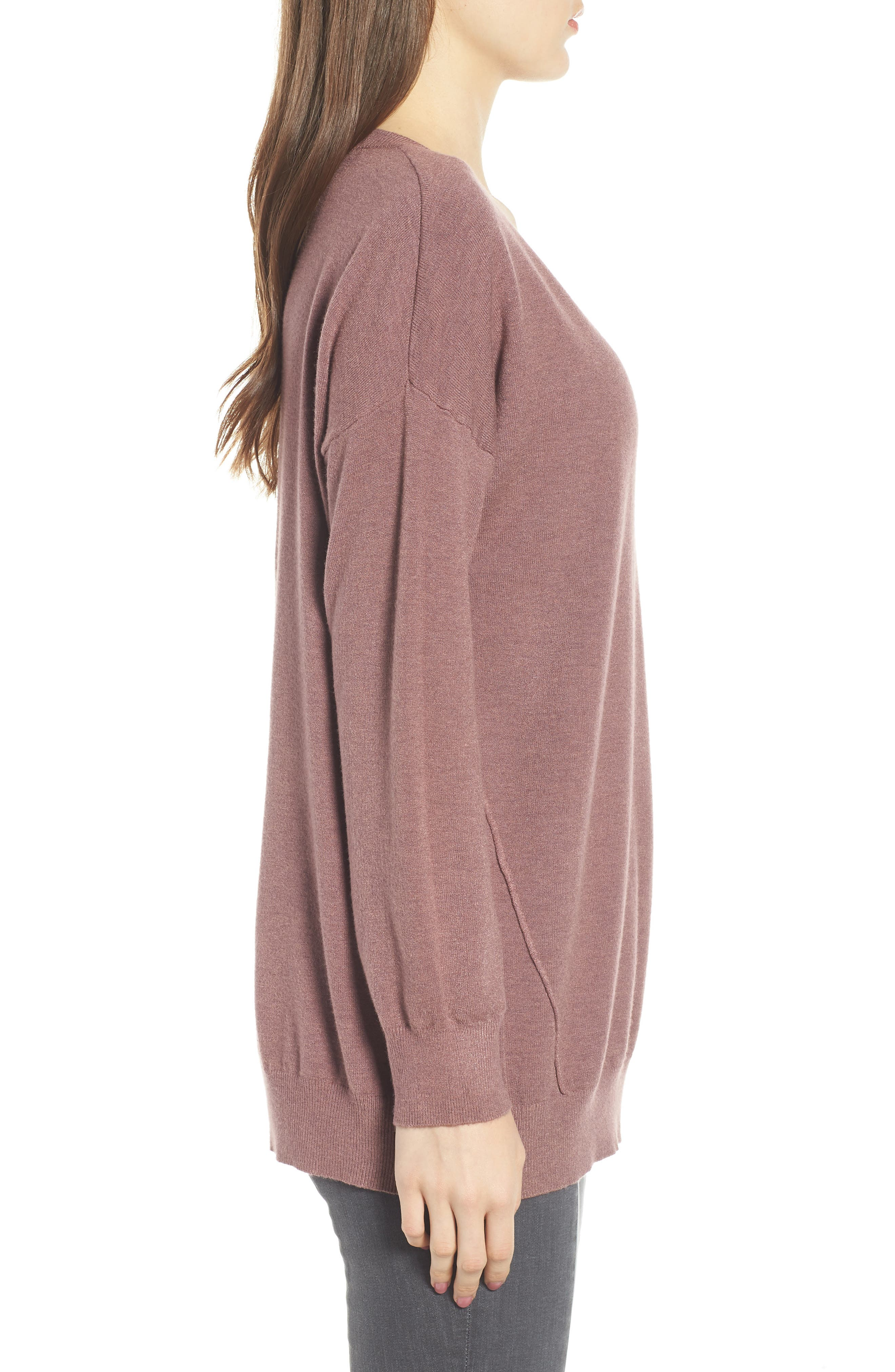 Exposed Seam Sweater,                             Alternate thumbnail 16, color,