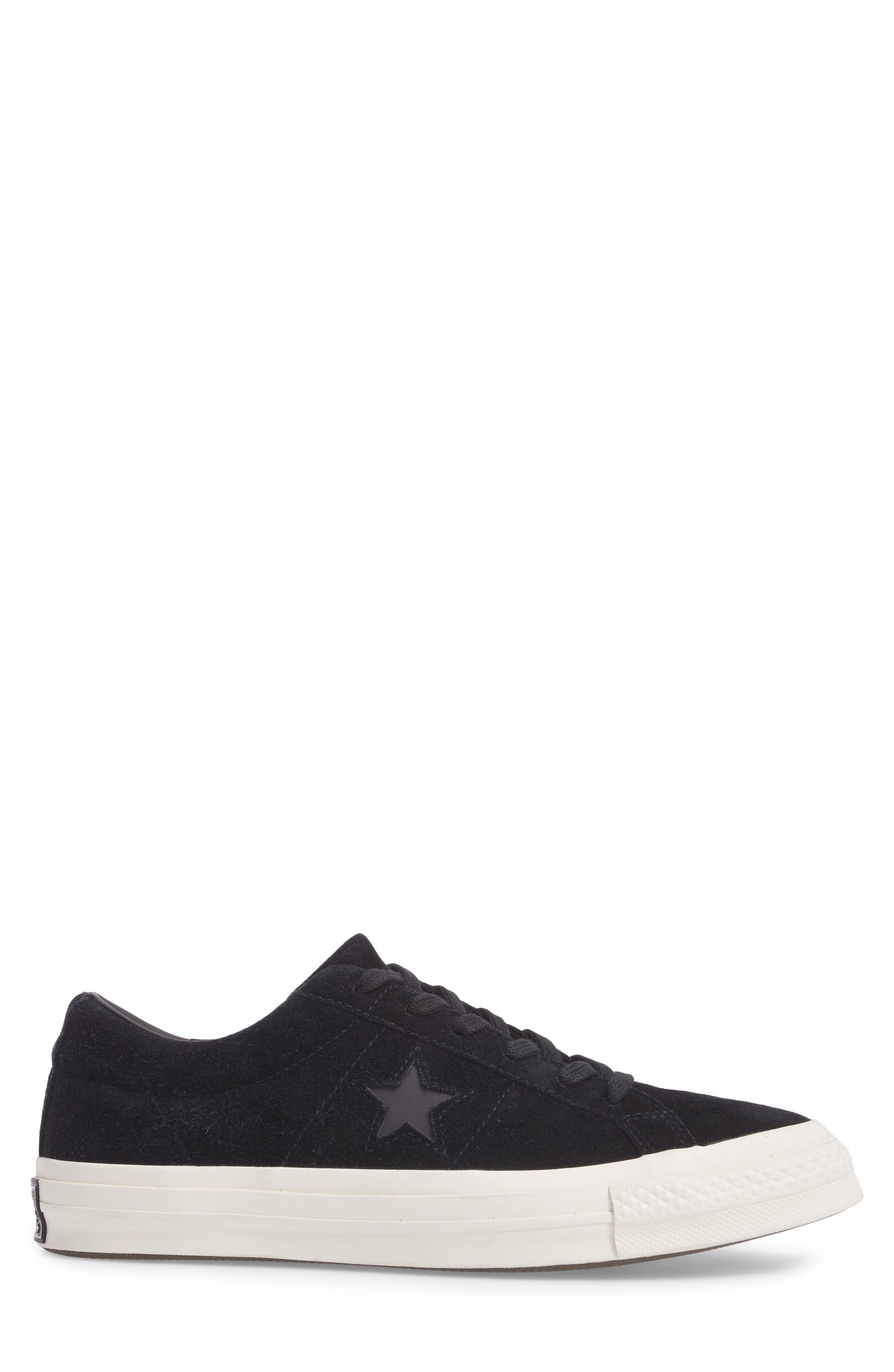 CONVERSE,                             One Star Sneaker,                             Alternate thumbnail 3, color,                             001