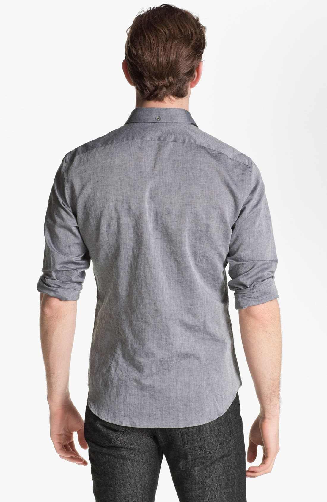 Collection Slim Fit Shirt,                             Alternate thumbnail 2, color,                             019