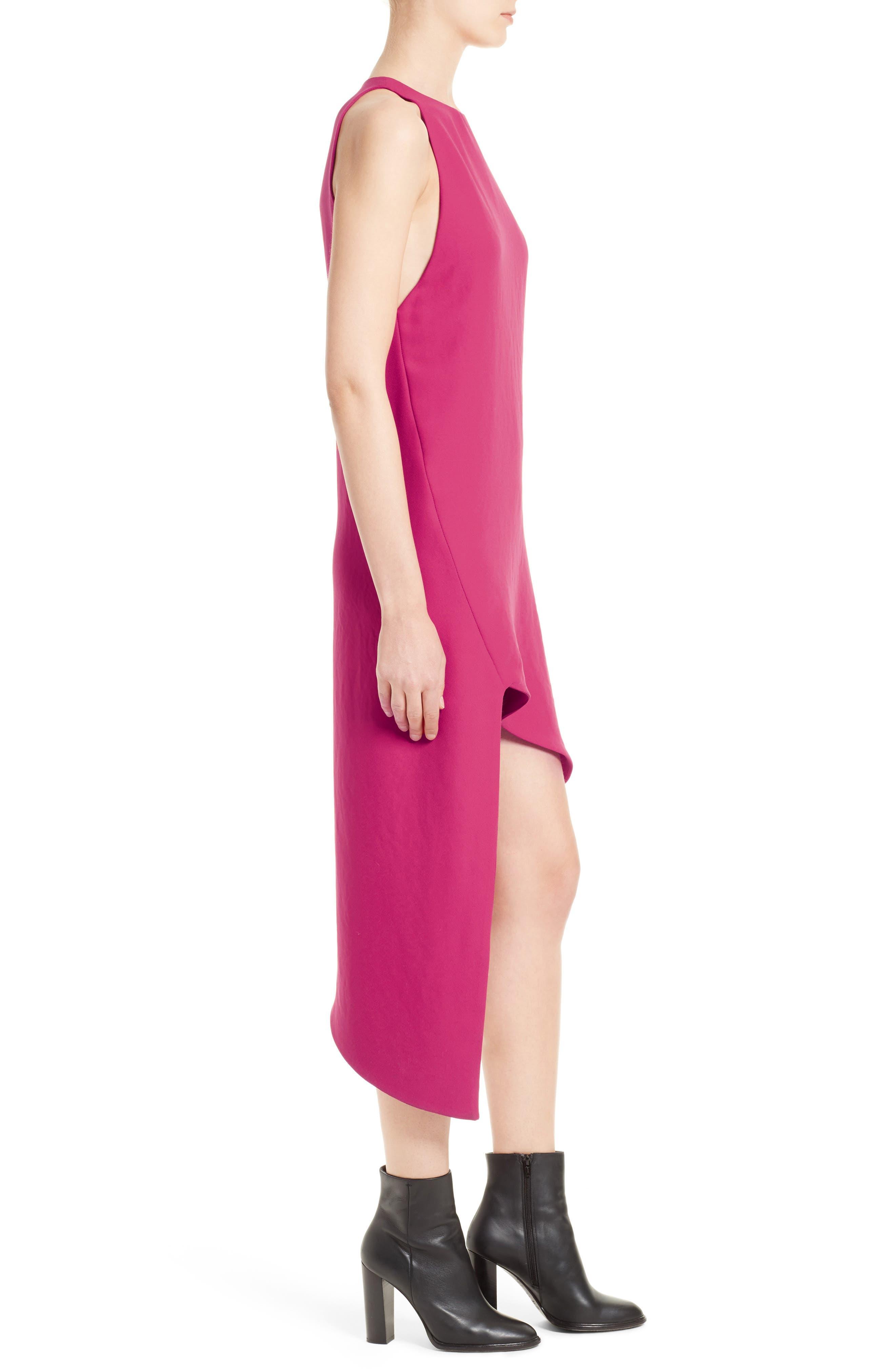 Hamlin Asymmetrical High/Low Dress,                             Alternate thumbnail 3, color,                             652