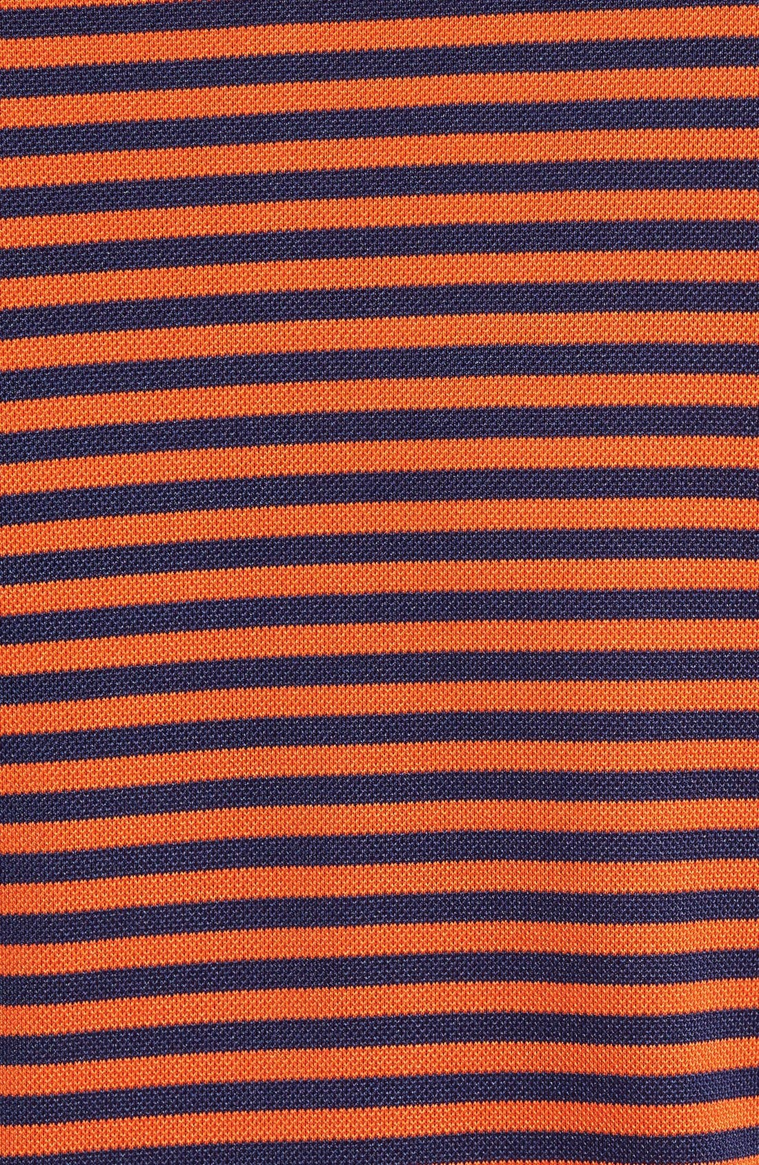 XH2O Feed Stripe Stretch Golf Polo,                             Alternate thumbnail 95, color,