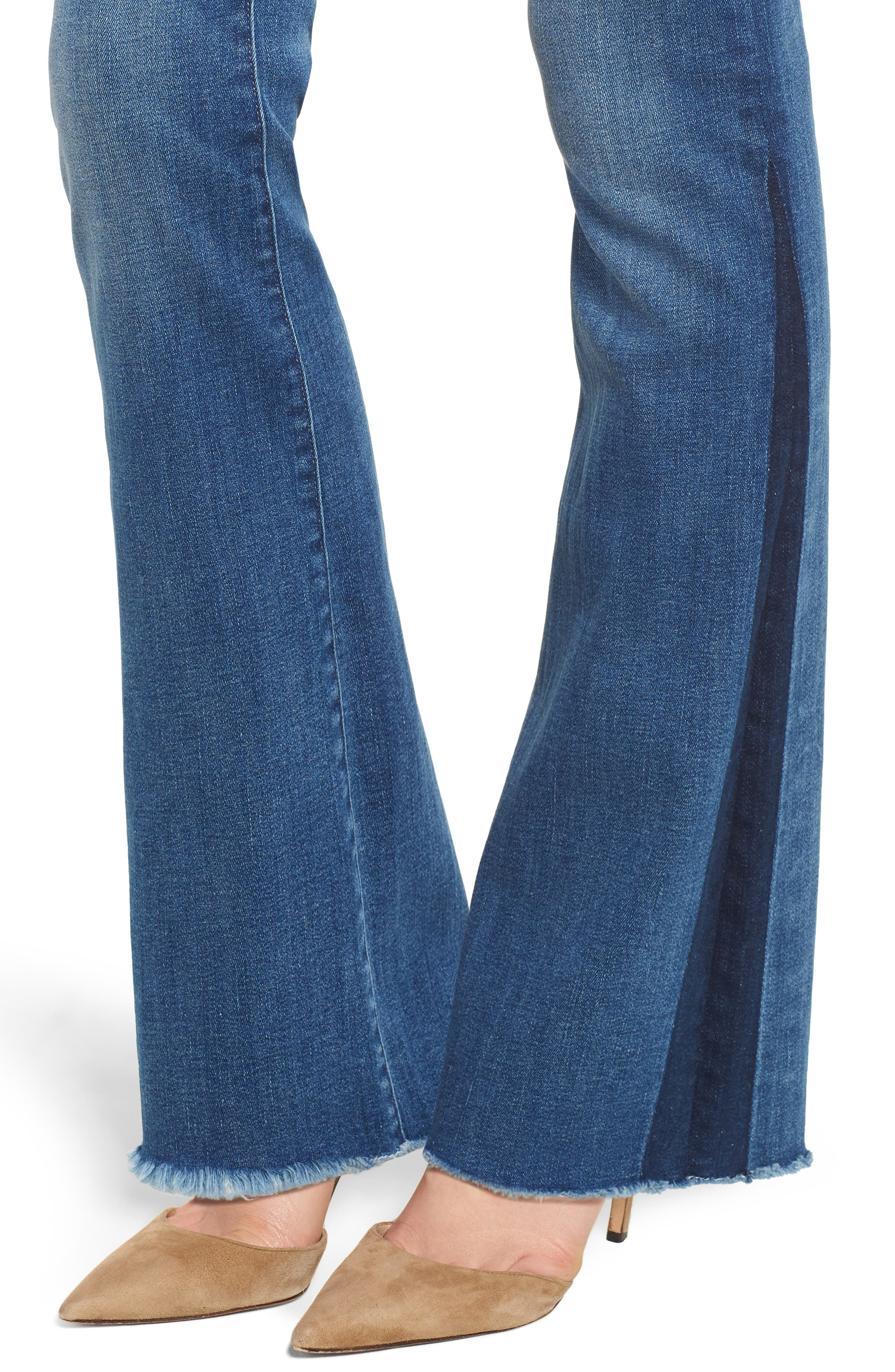 Bridget Instasculpt Bootcut Jeans,                             Alternate thumbnail 4, color,                             425