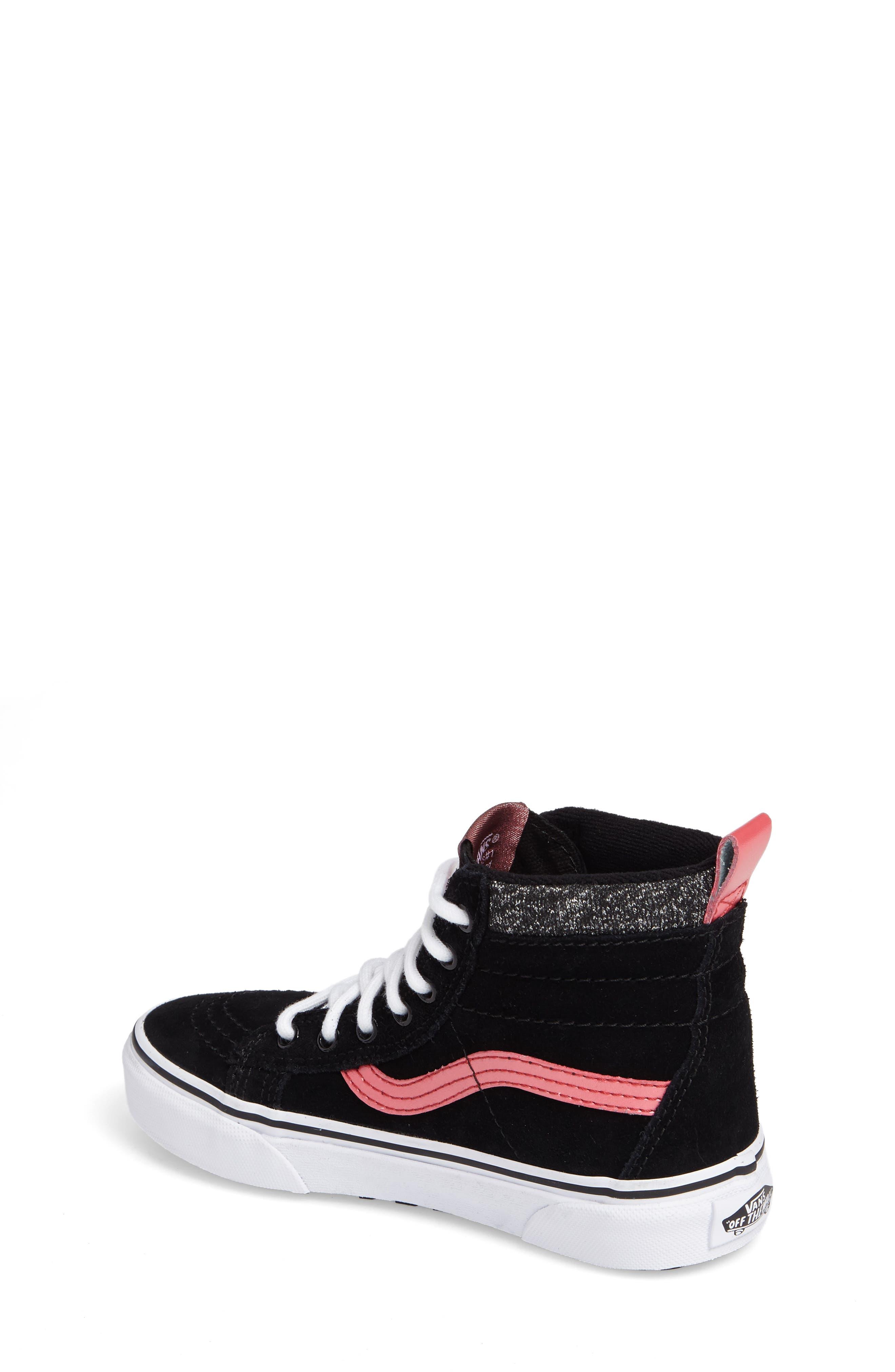 SK8-Hi Sneaker,                             Alternate thumbnail 2, color,                             001