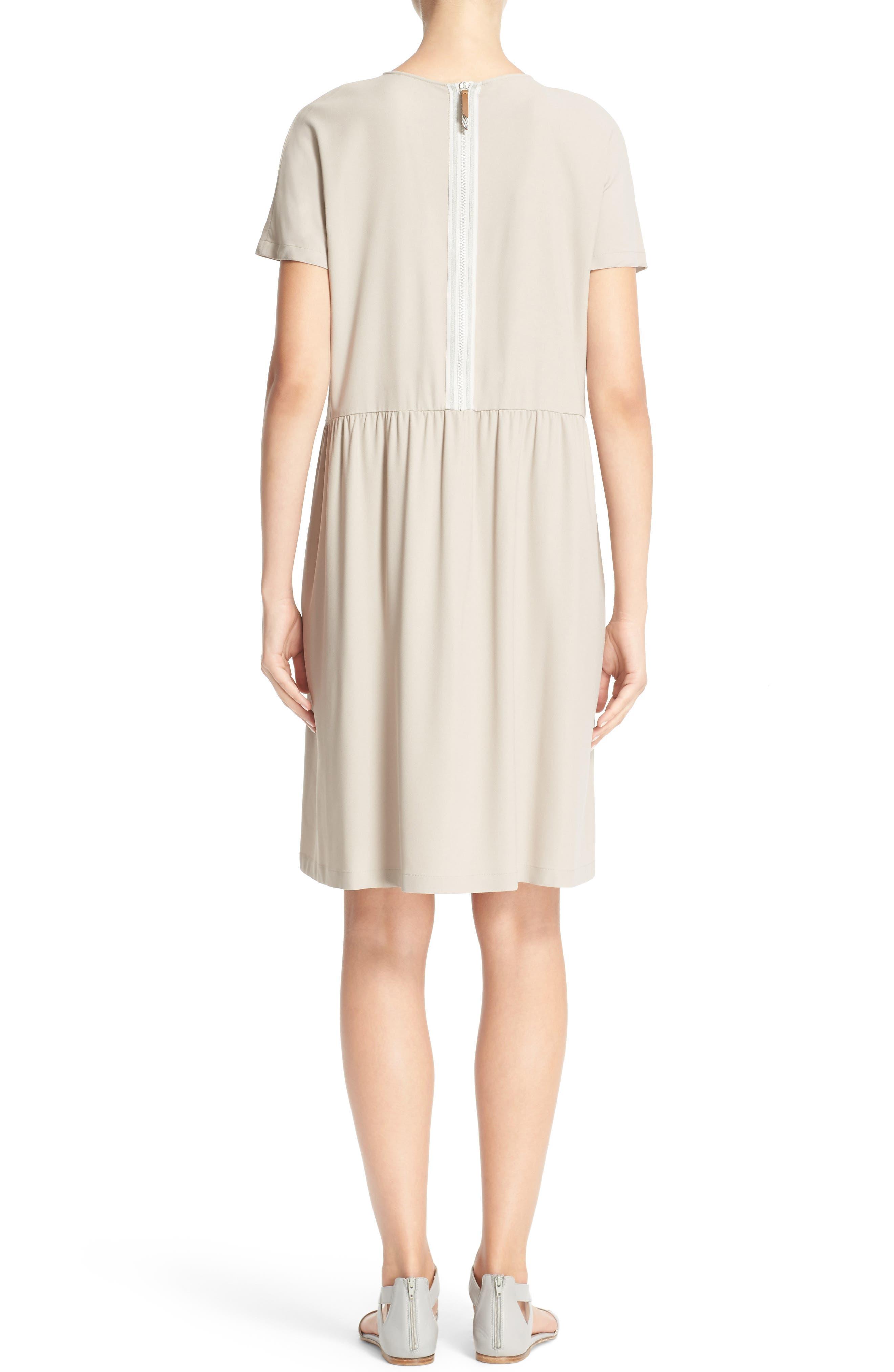 Stretch Cotton Poplin Dress,                             Alternate thumbnail 2, color,                             250