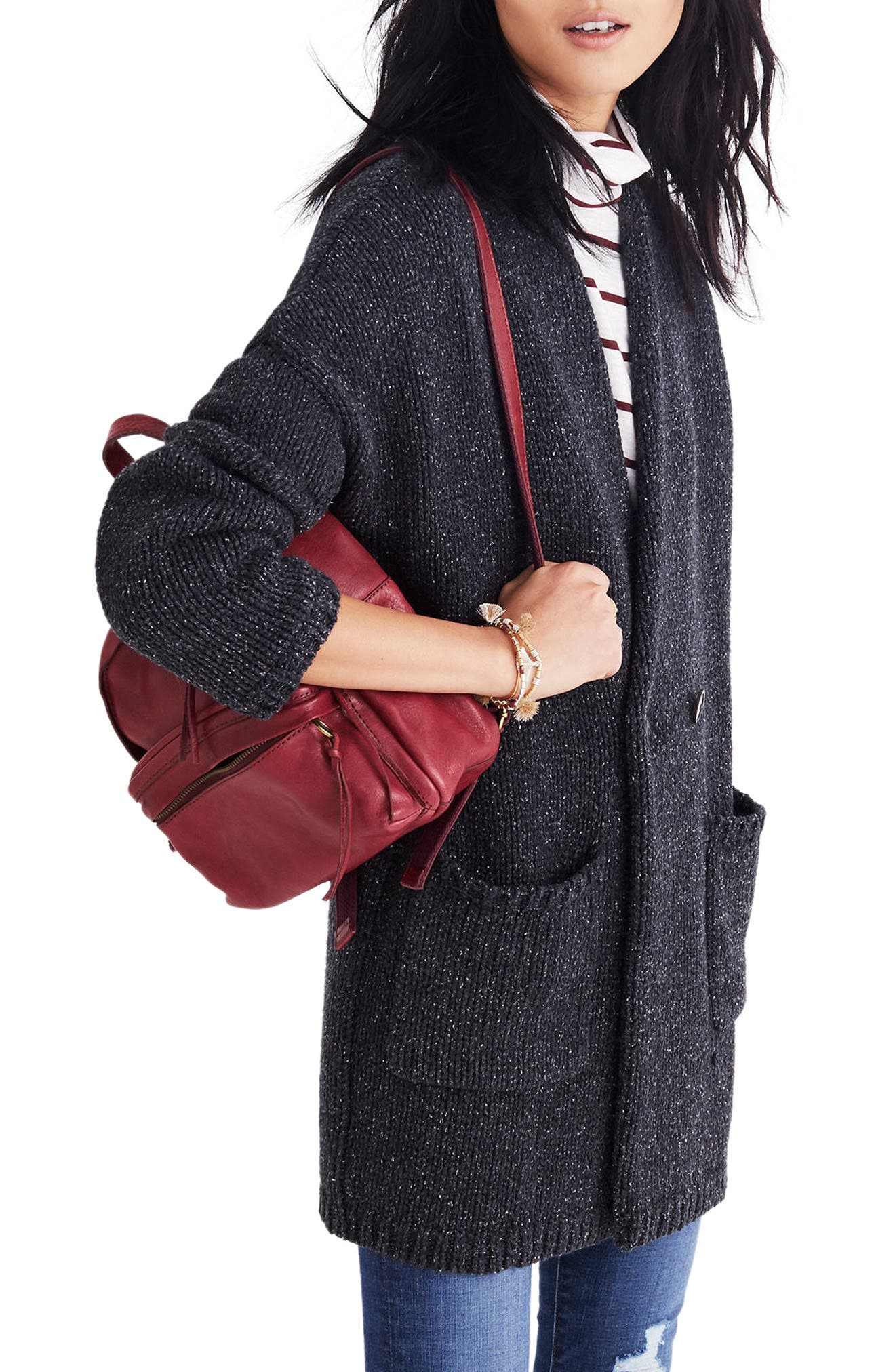 Glenhill Sweater Coat,                         Main,                         color, 001