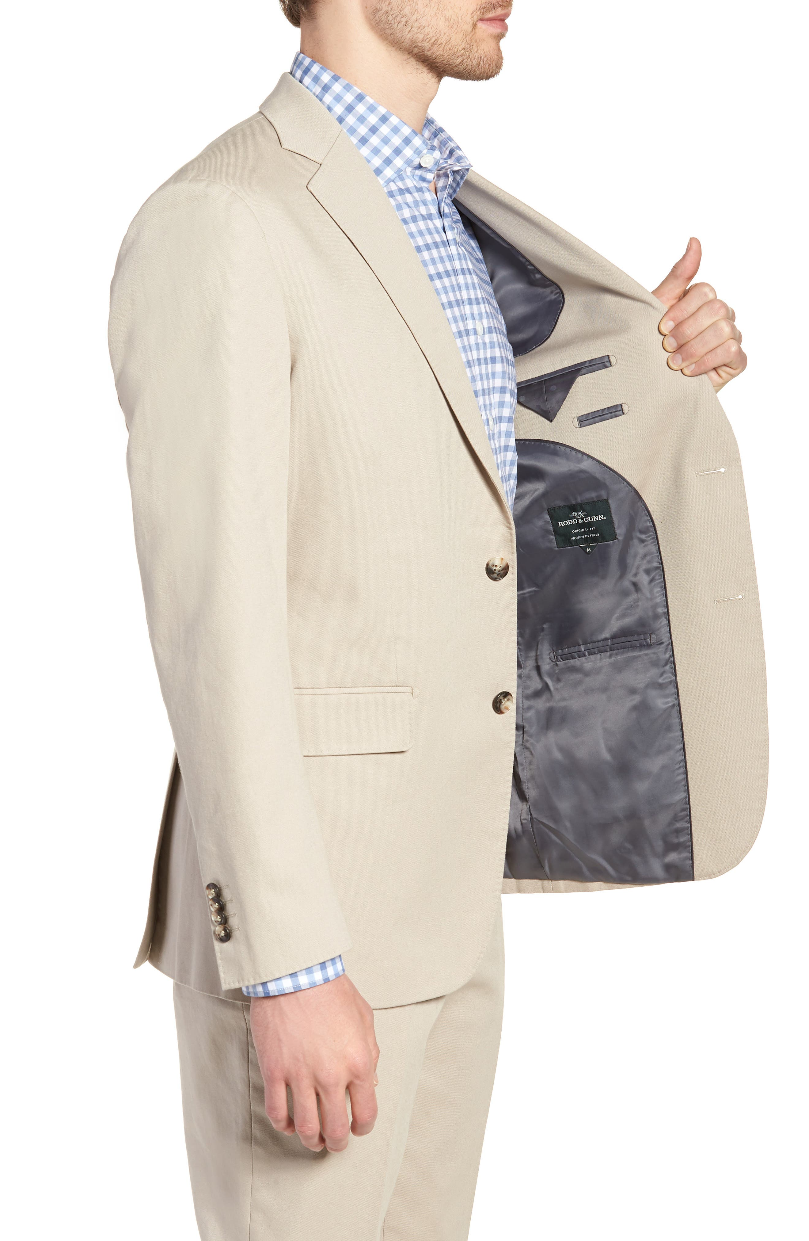 Finchley Regular Fit Sportcoat,                             Alternate thumbnail 3, color,                             102