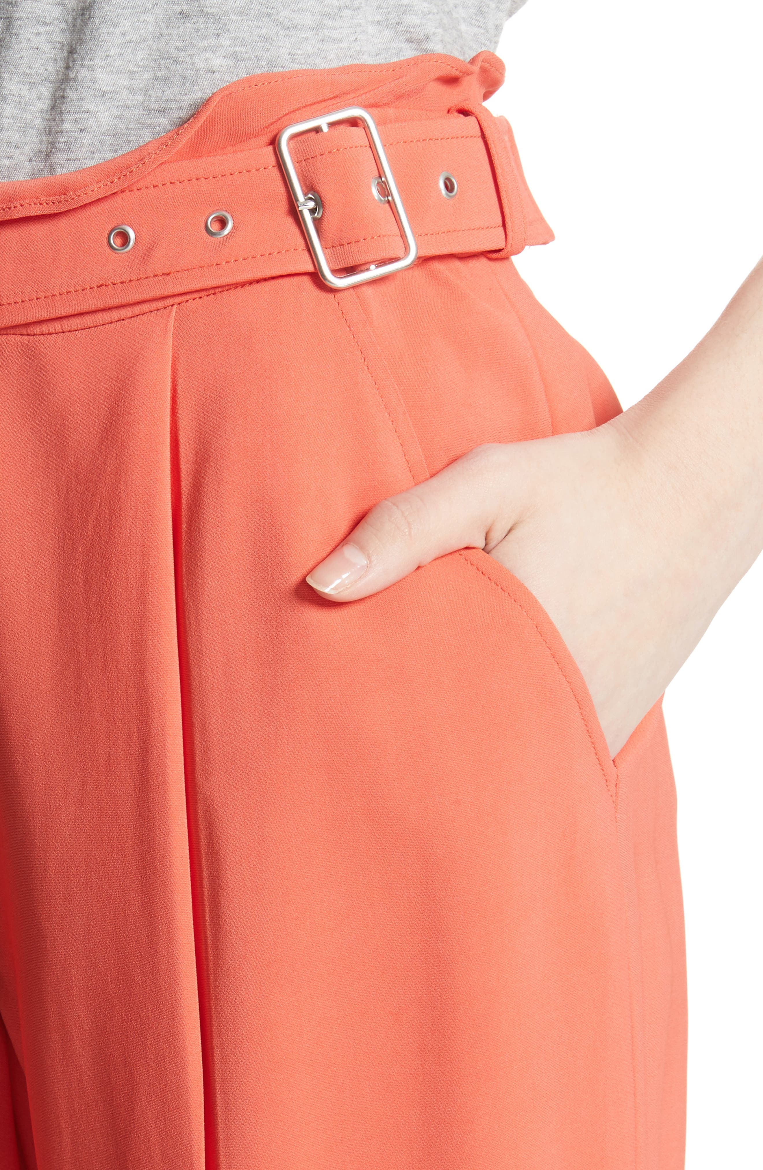 Belted Trousers,                             Alternate thumbnail 4, color,                             950
