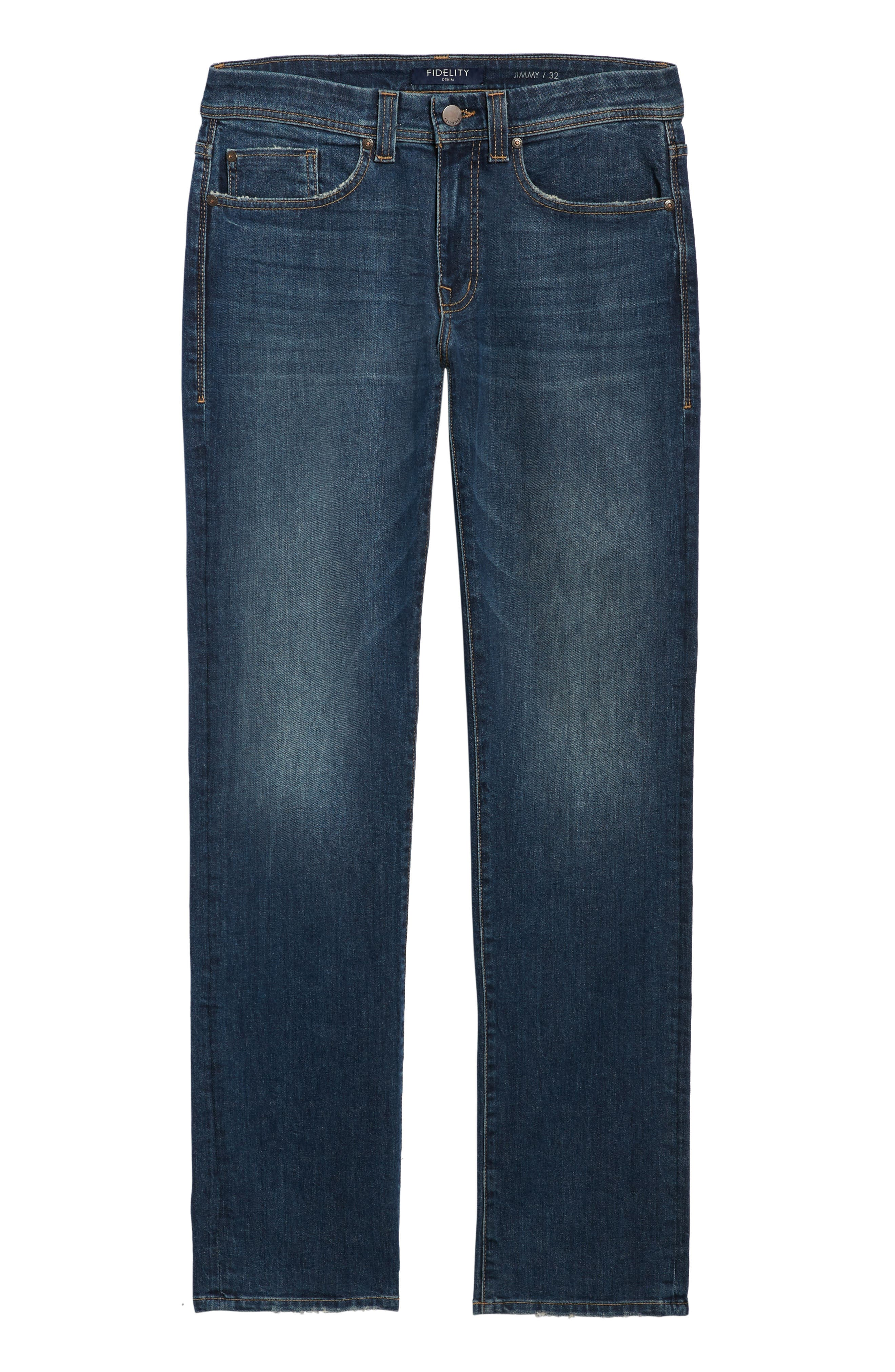 50-11 Relaxed Fit Jeans,                             Alternate thumbnail 6, color,                             GTO VINTAGE