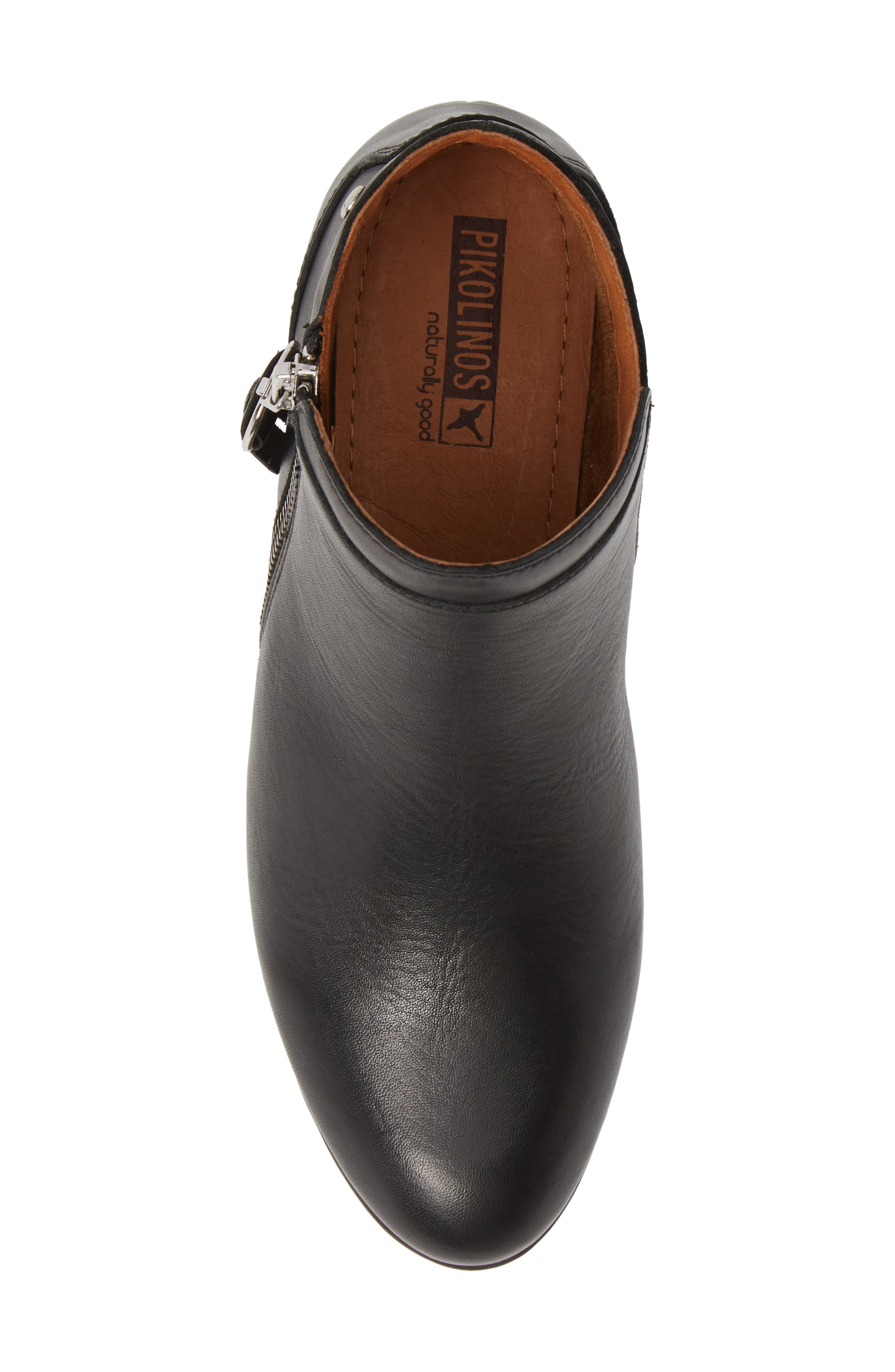 Daroca Bootie,                             Alternate thumbnail 5, color,                             BLACK LEATHER