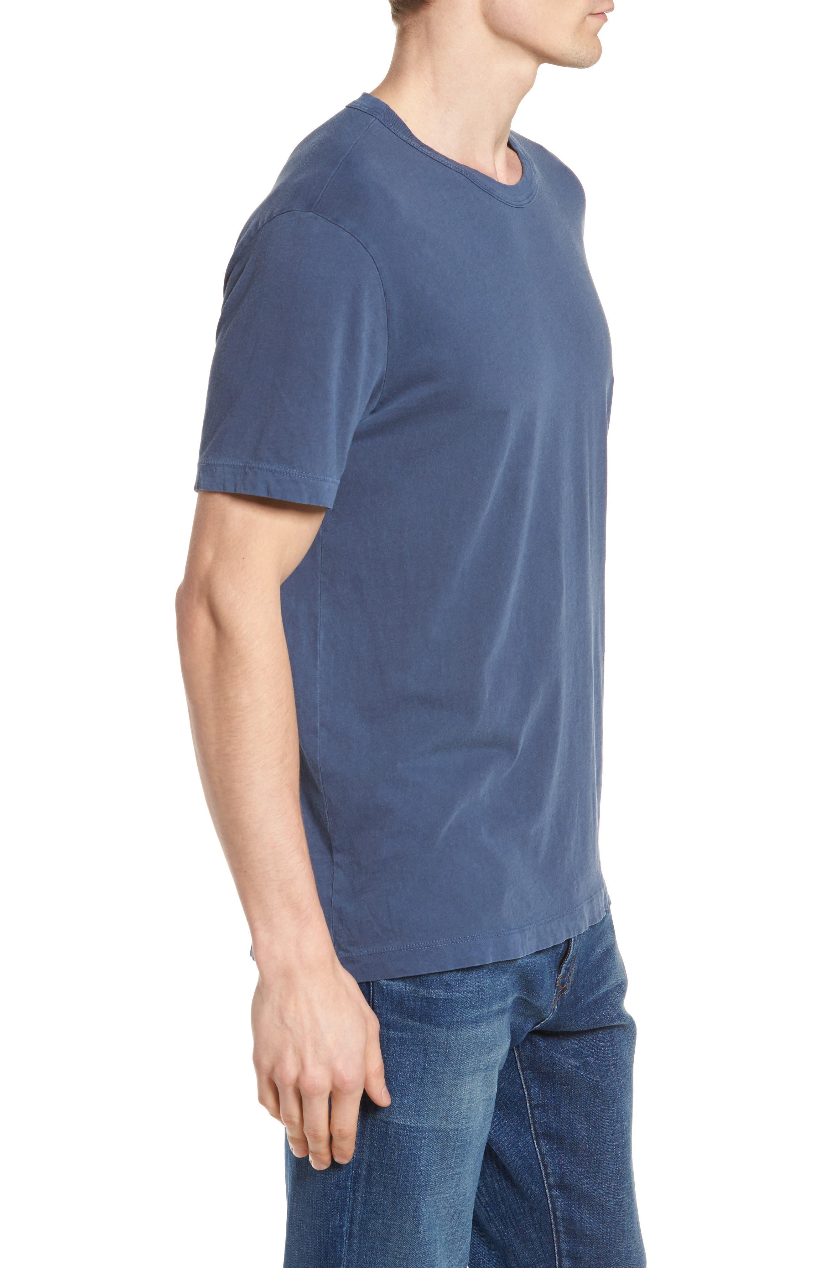 Checkerboard Crewneck T-Shirt,                             Alternate thumbnail 9, color,
