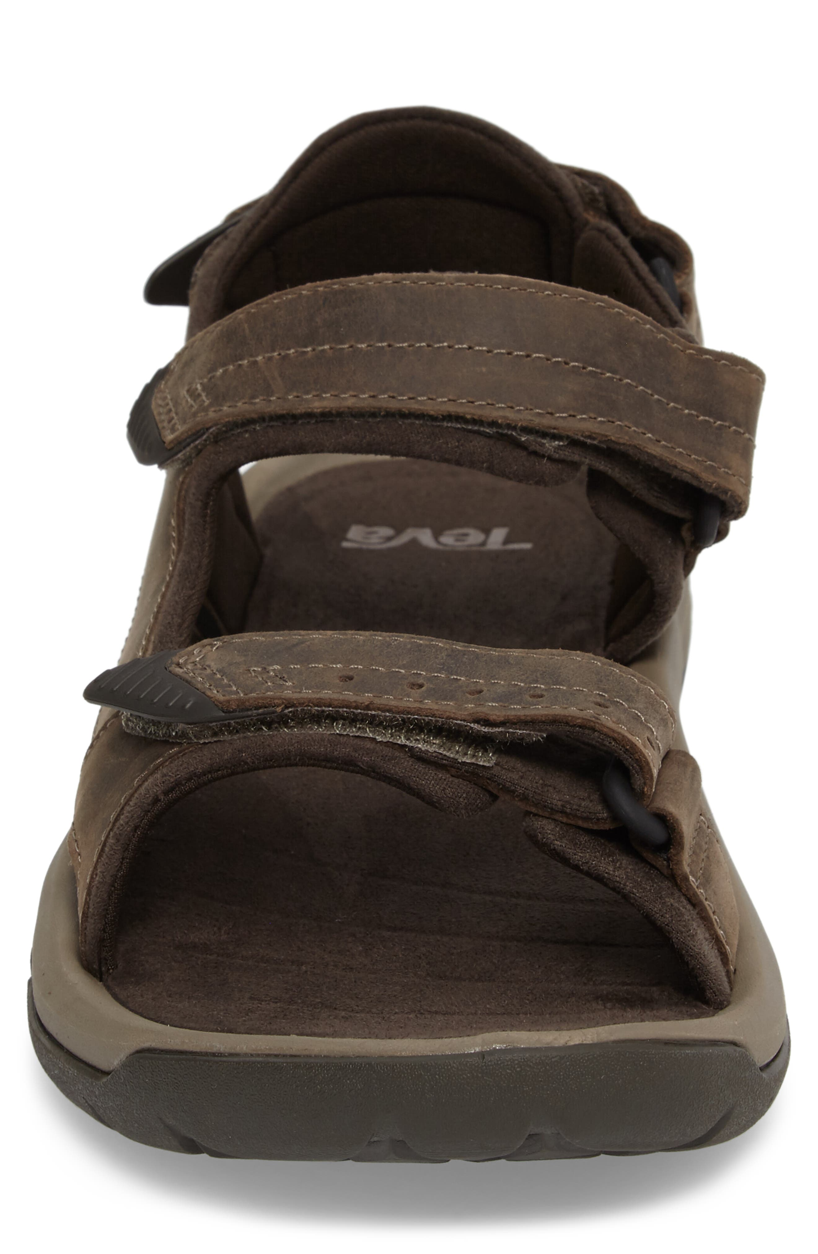 Langdon Sandal,                             Alternate thumbnail 4, color,                             WALNUT