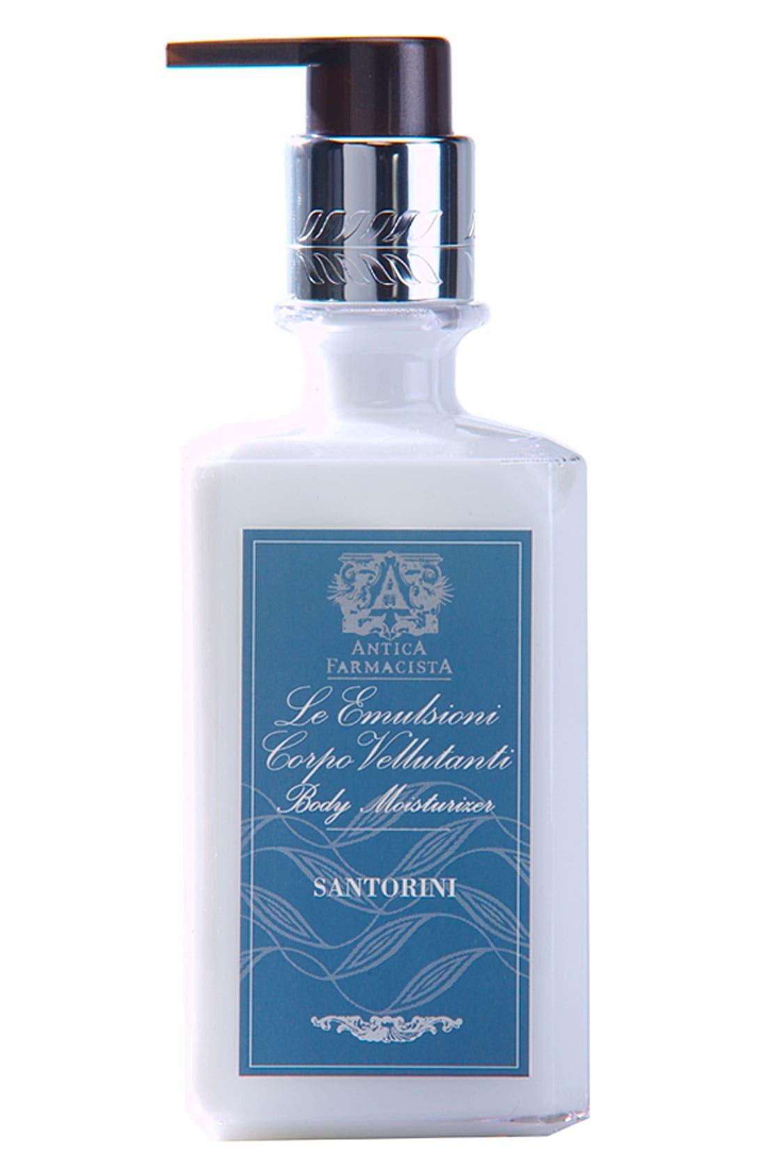 'Santorini' Body Moisturizer,                             Main thumbnail 1, color,                             NO COLOR