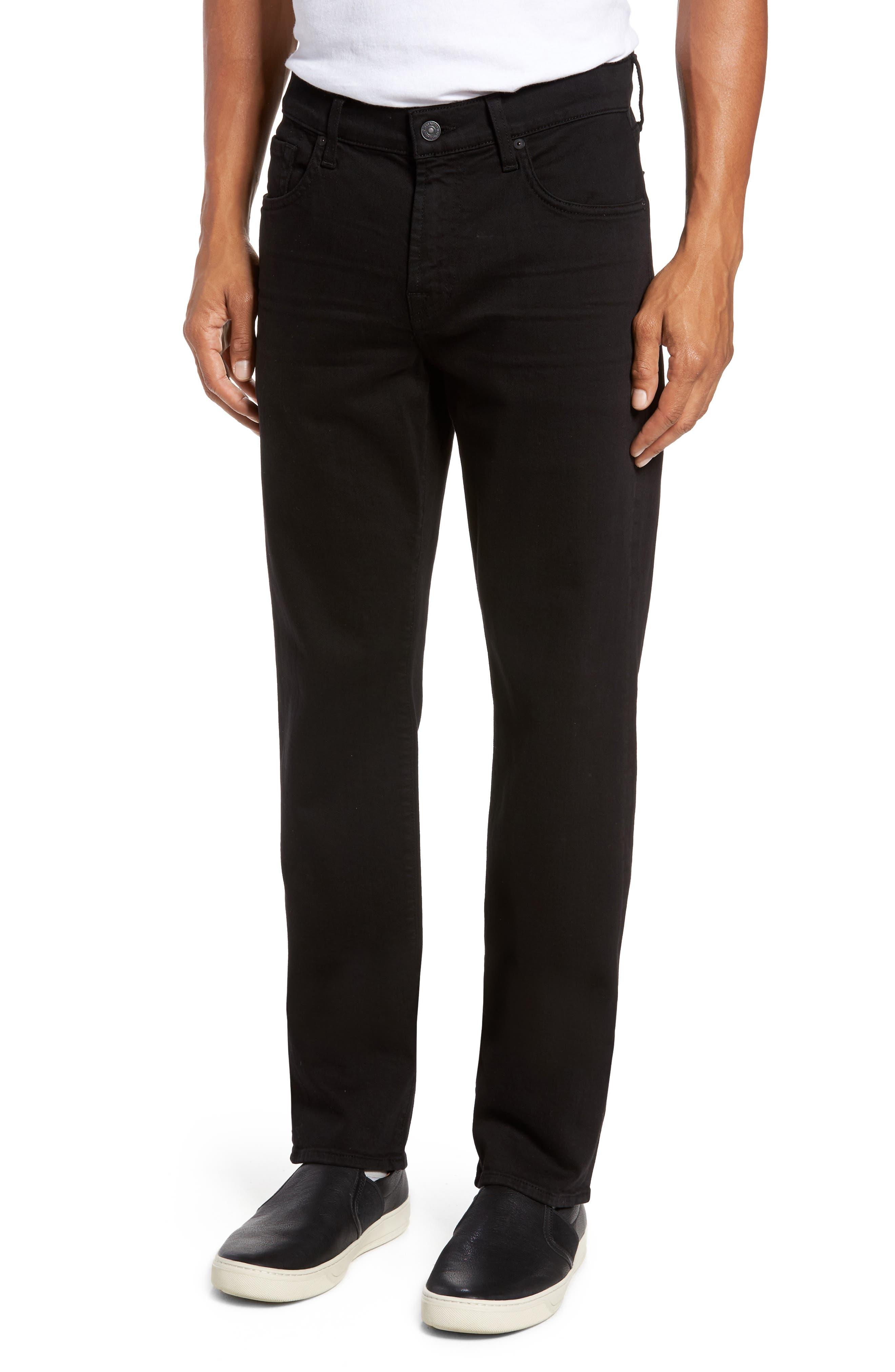 Luxe Performance - Slimmy Slim Fit Jeans,                             Main thumbnail 1, color,                             ANNEX BLACK