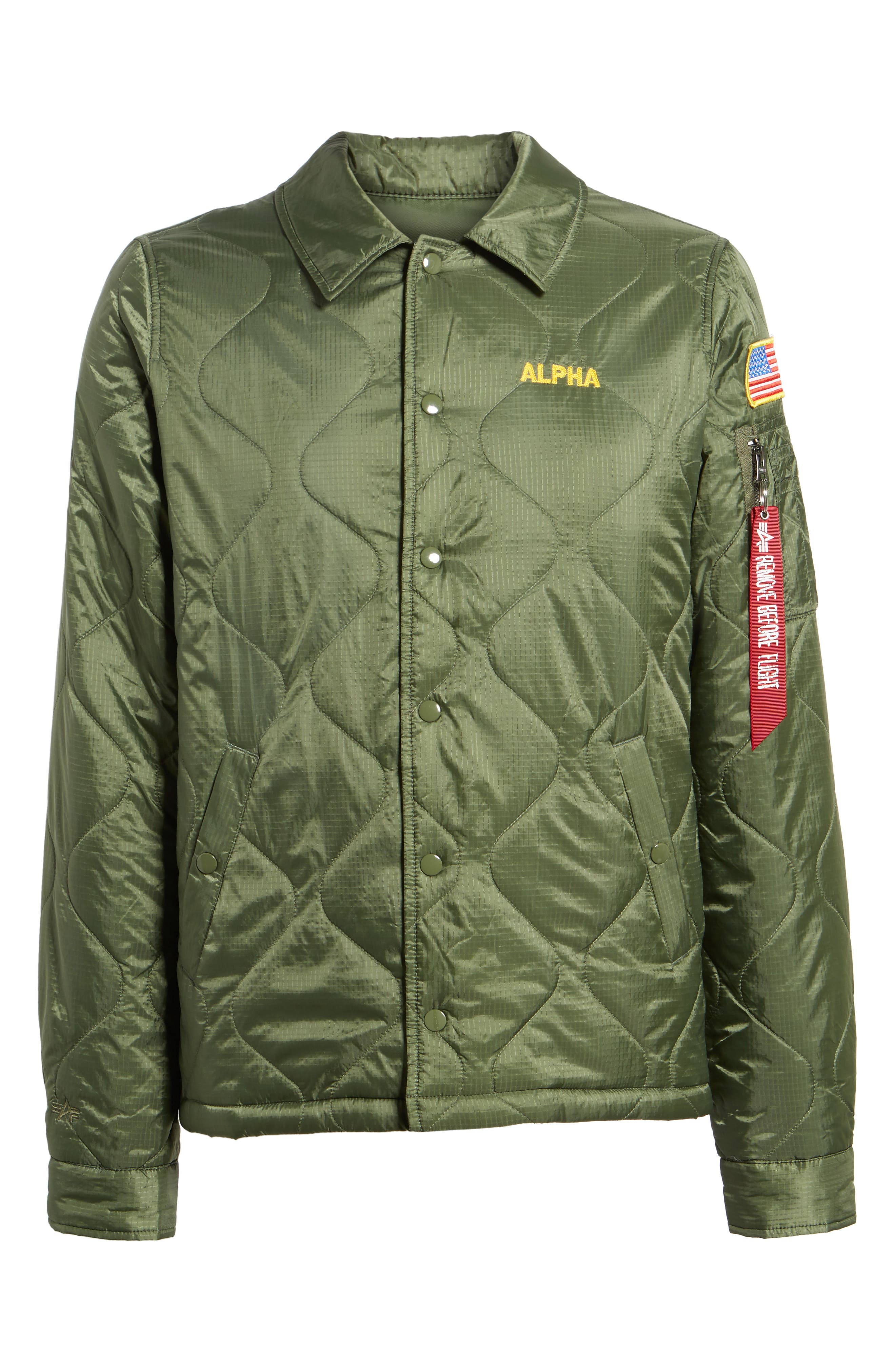 Quilted Storm Cruiser Jacket,                             Alternate thumbnail 5, color,                             310