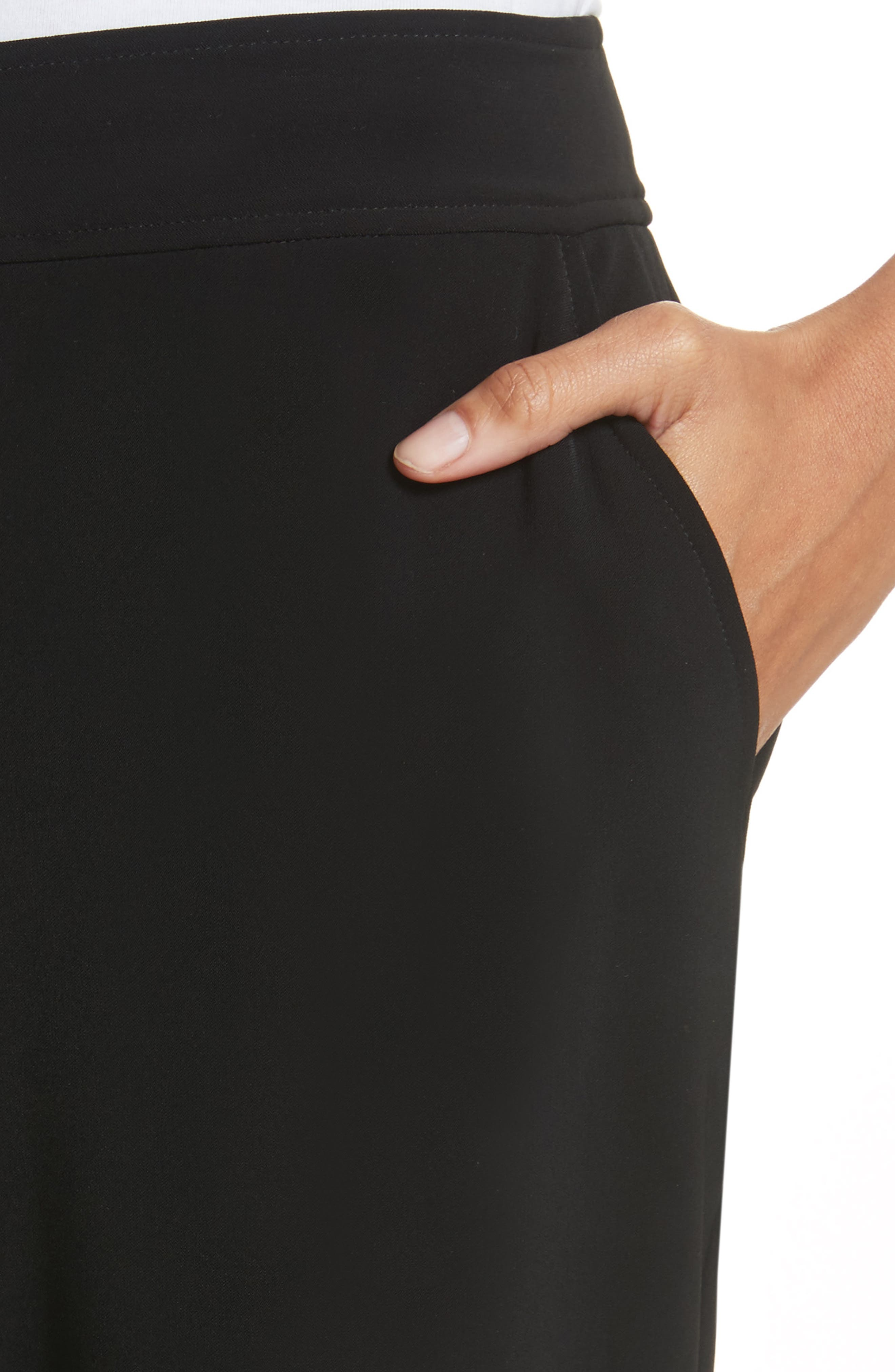 Yulit High Waist Trousers,                             Alternate thumbnail 4, color,                             001