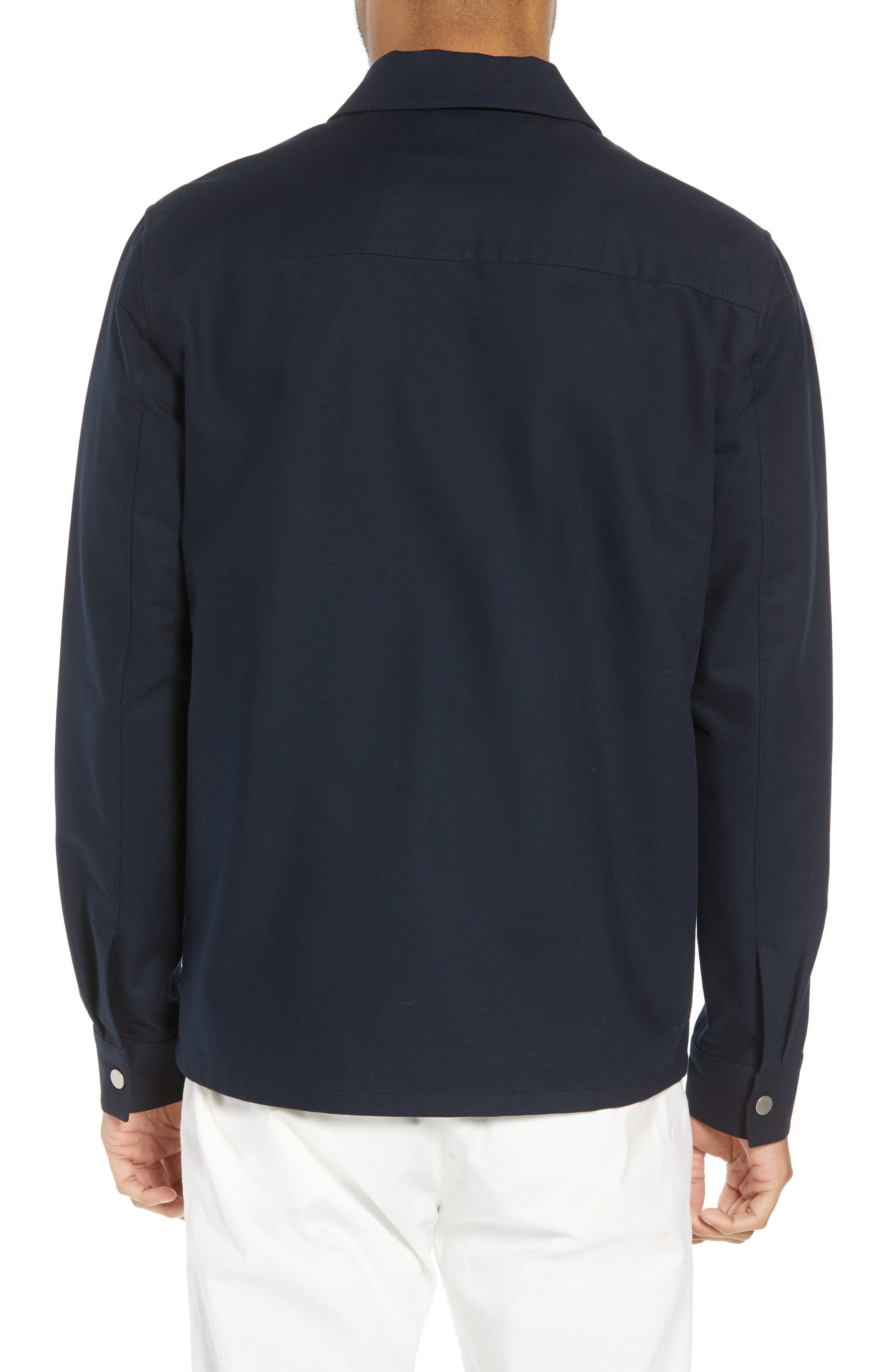 THEORY,                             Rye Stretch Cotton Jacket,                             Alternate thumbnail 2, color,                             497