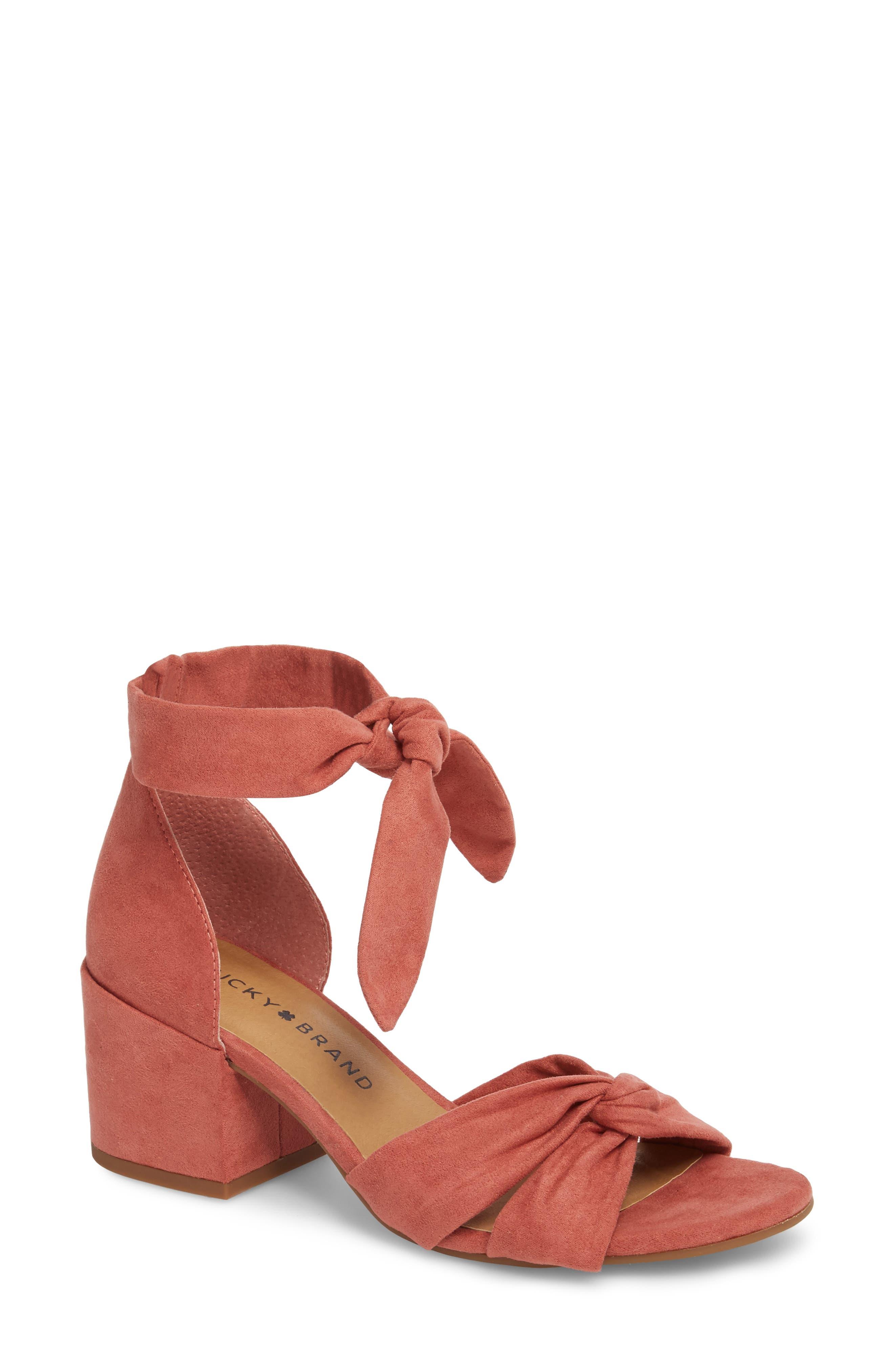 Xaylah Ankle Strap Sandal,                             Main thumbnail 7, color,