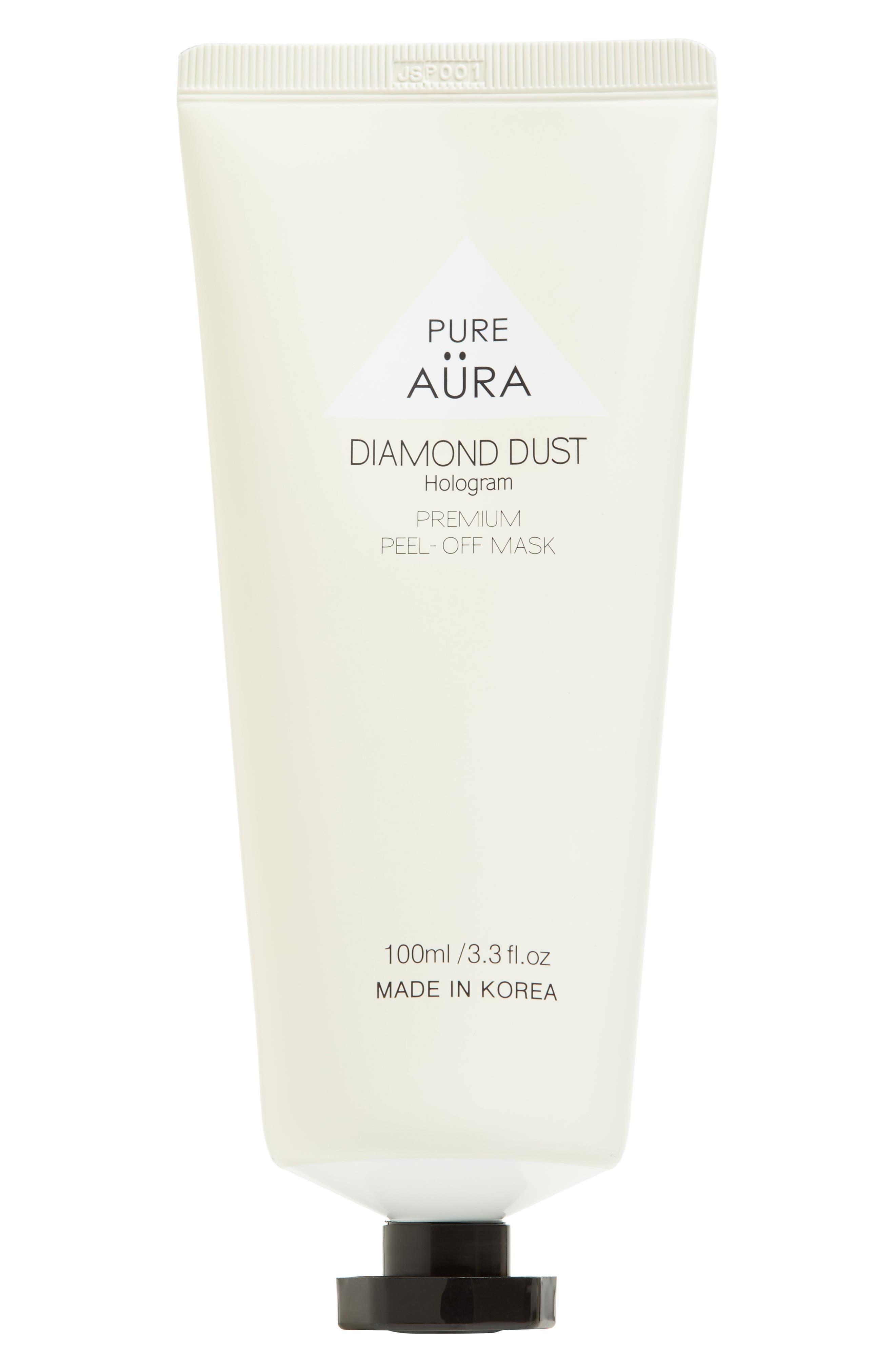 PURE AURA,                             Premium Peel-Off Mask,                             Main thumbnail 1, color,                             040