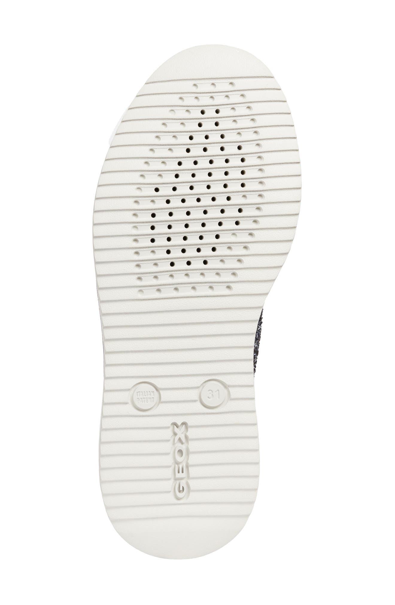 Thymar Sparkle Sneaker,                             Alternate thumbnail 6, color,                             DARK SILVER