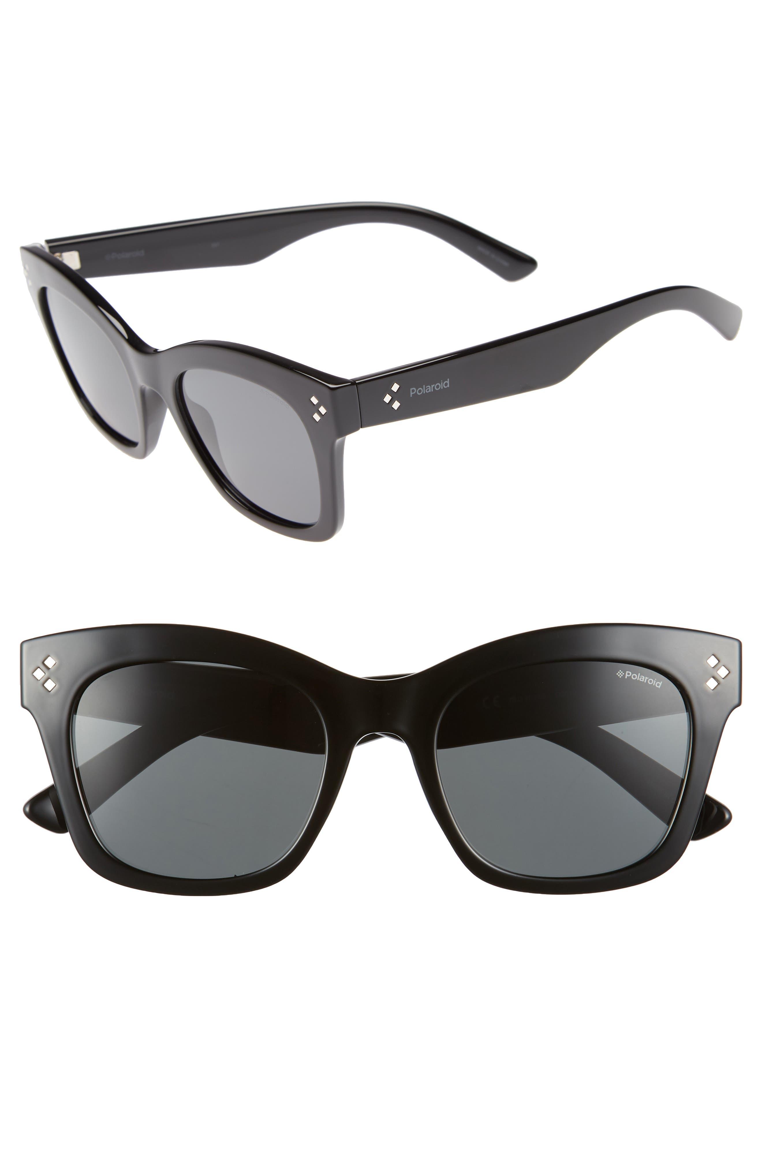 Core 51mm Polarized Sunglasses,                             Main thumbnail 1, color,                             001