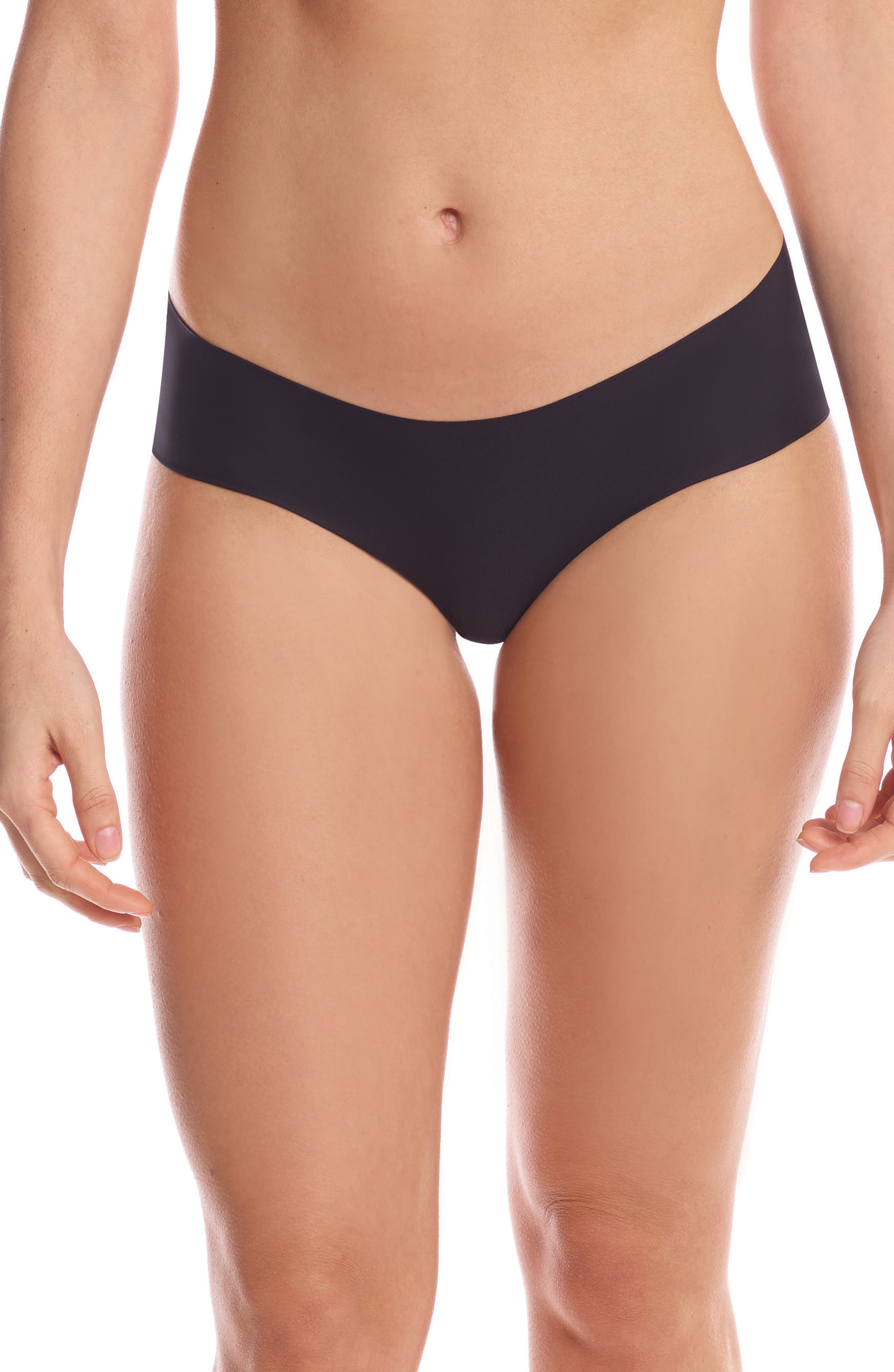 Perfect Stretch Hipster Briefs,                         Main,                         color, BLACK