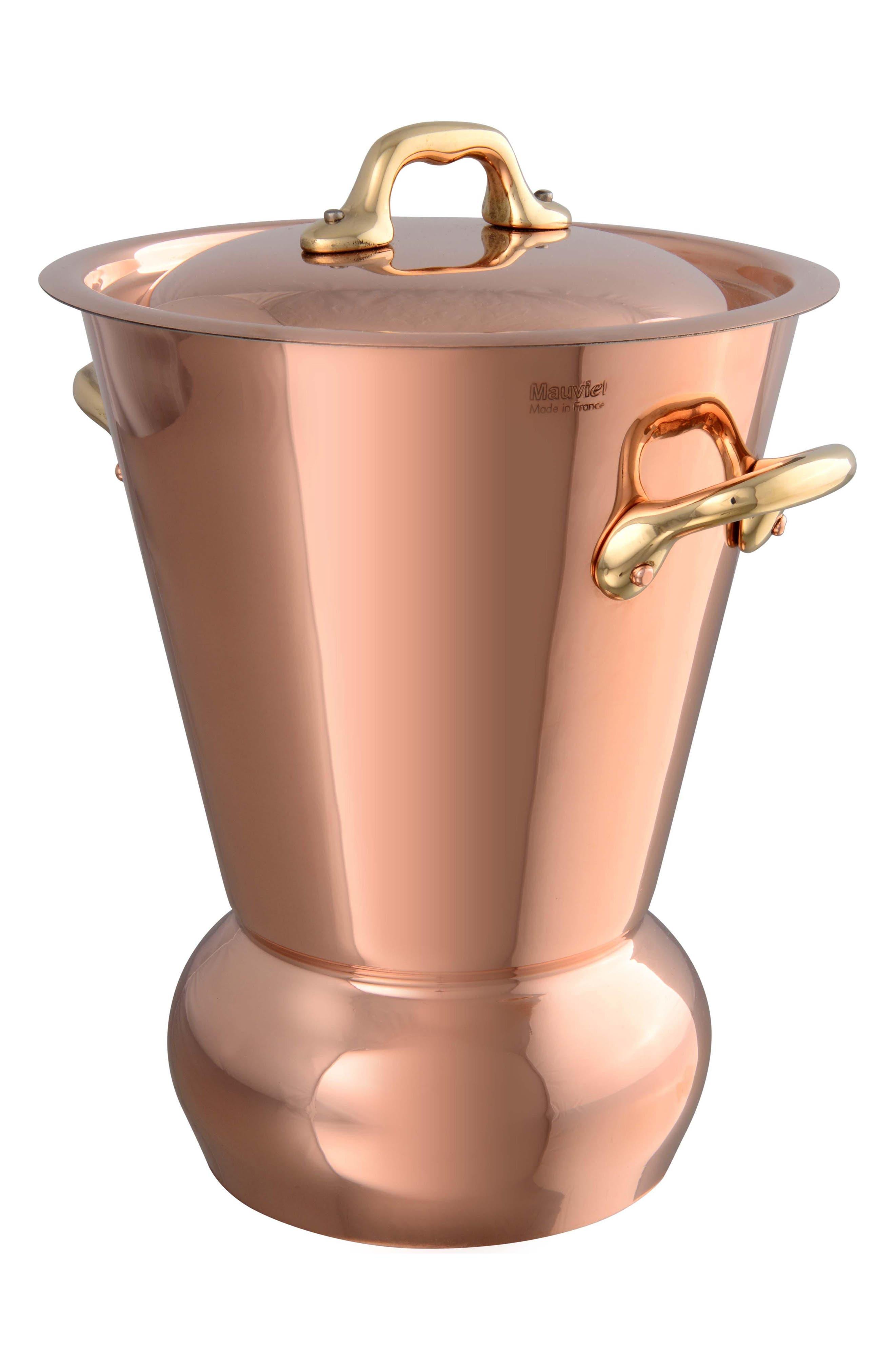 M'tradition Copper Potato Steamer,                             Main thumbnail 1, color,                             COPPER