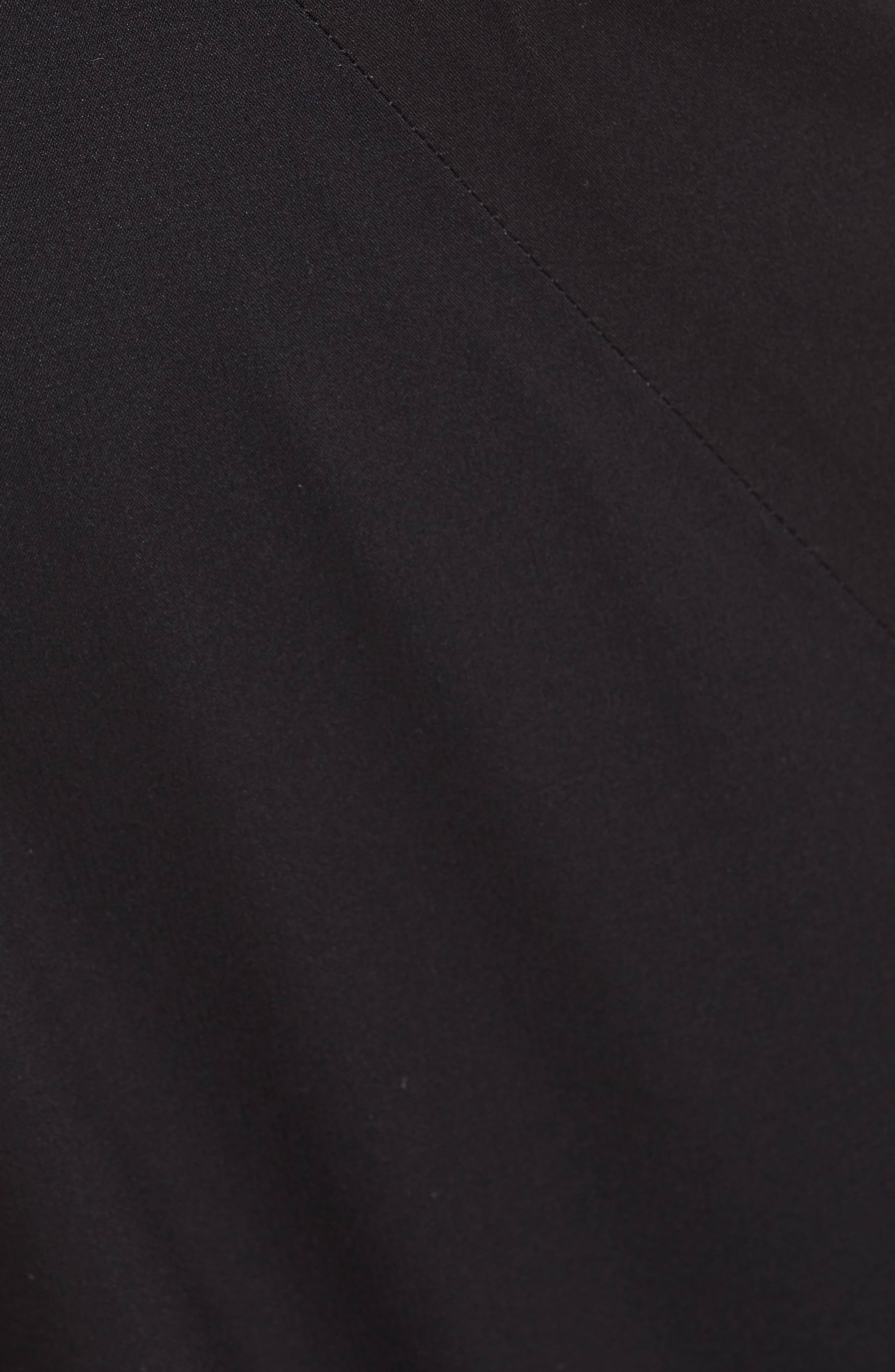 Hayden Shell Pant,                             Alternate thumbnail 8, color,                             SPACE BLACK