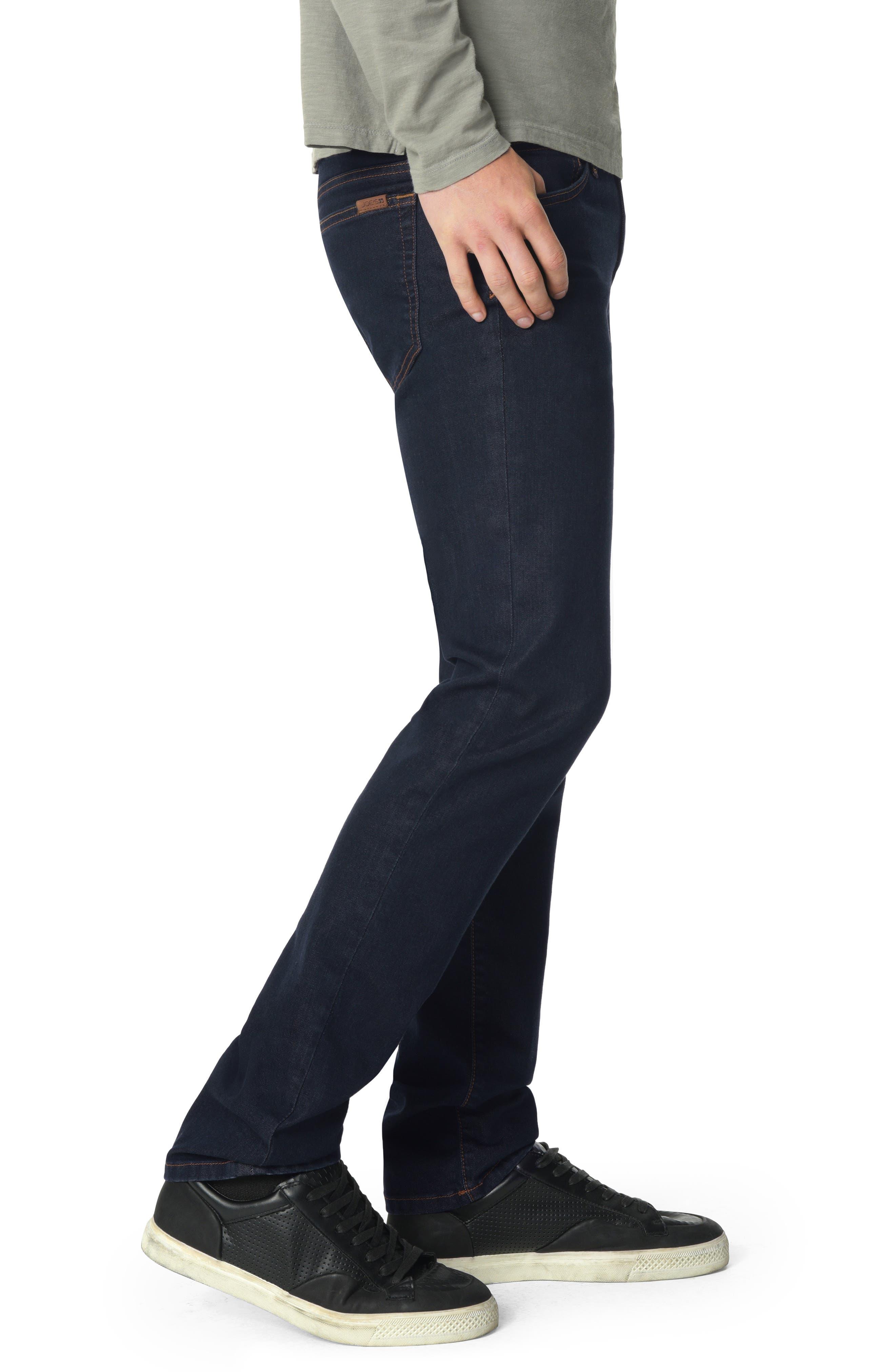Brixton Slim Straight Leg Jeans,                             Alternate thumbnail 3, color,                             SIMON