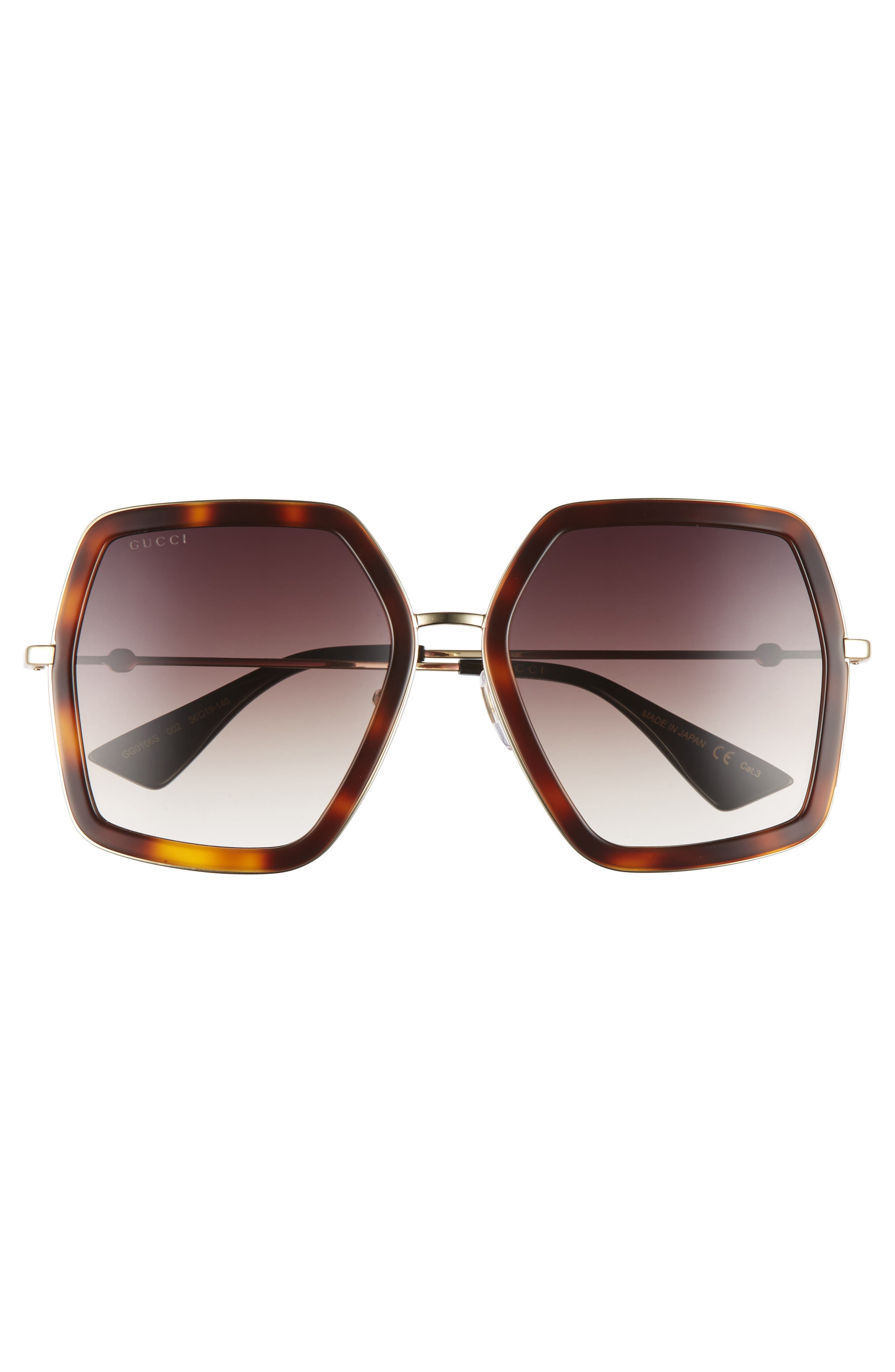 56mm Sunglasses,                             Alternate thumbnail 6, color,