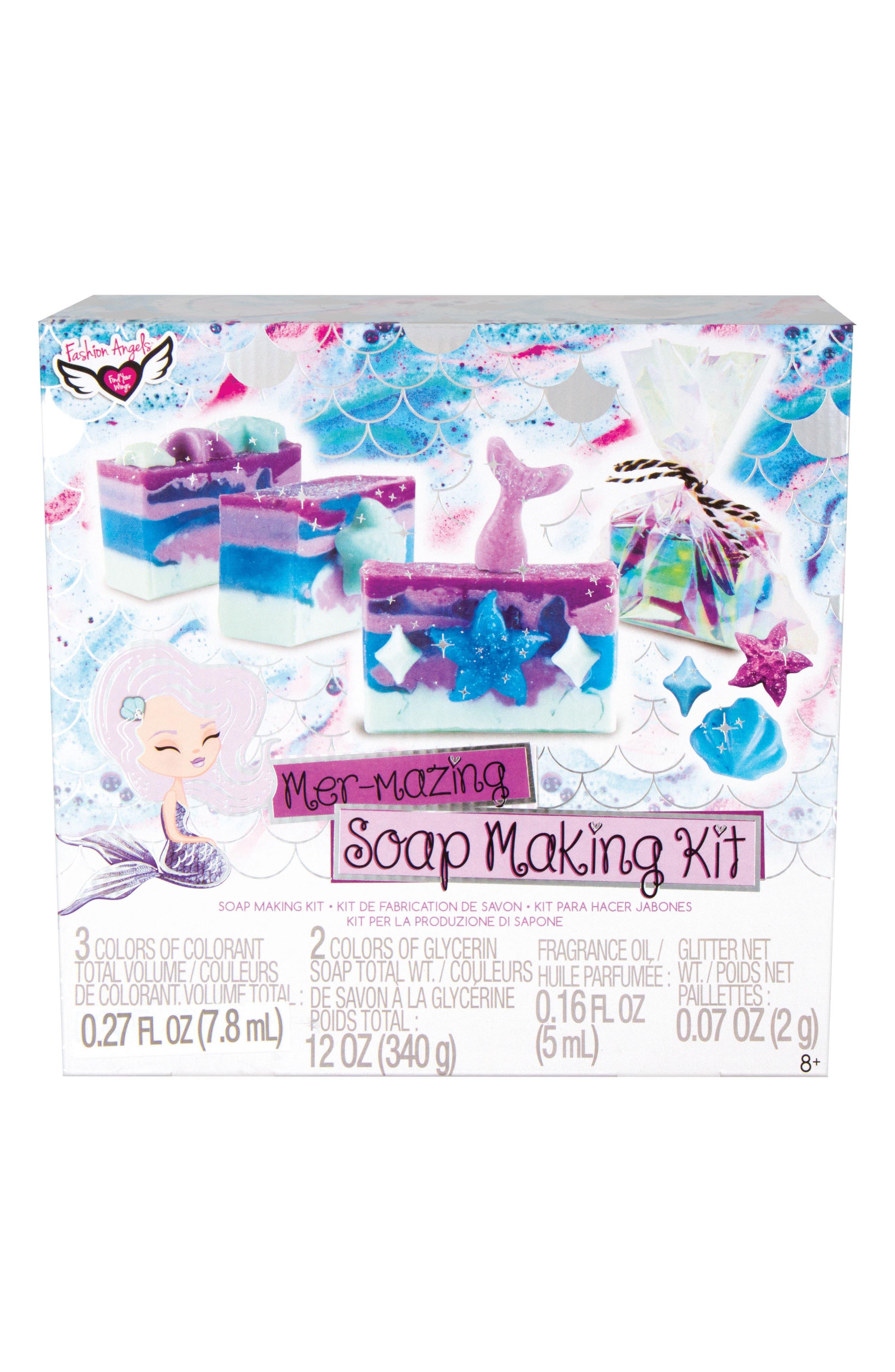Mermaid Dreams Soapmaking Kit,                             Main thumbnail 1, color,                             500