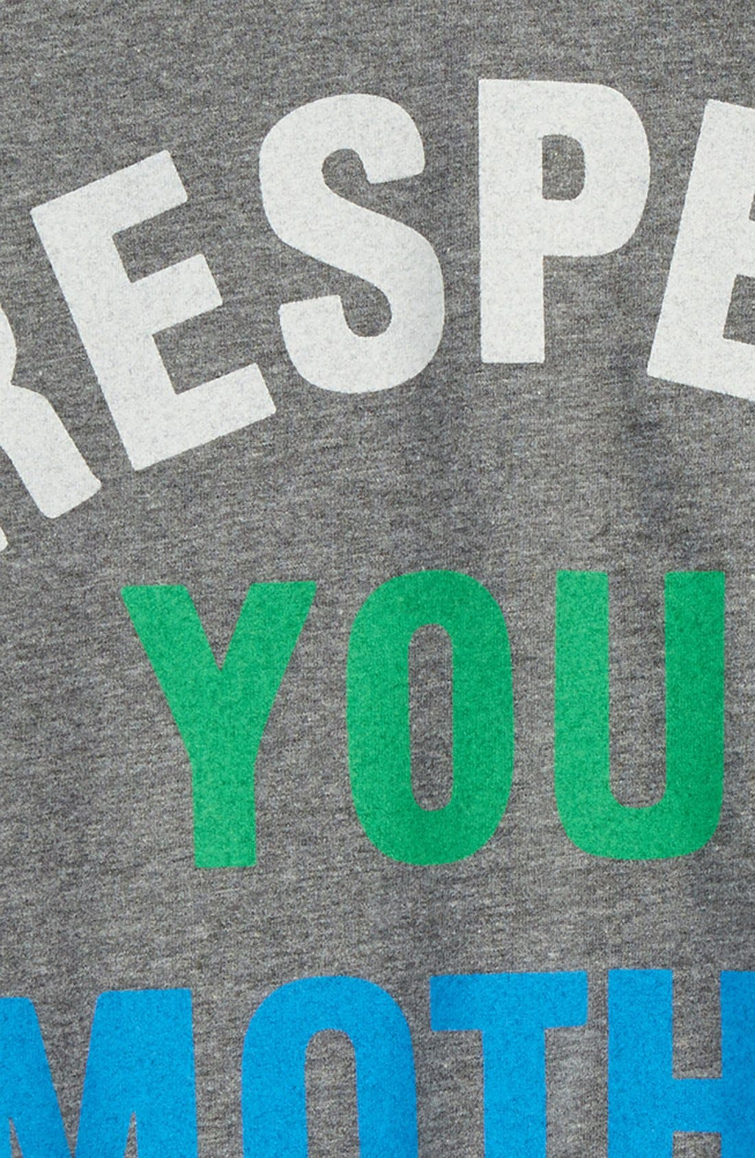 Peek 'Respect Your Mother' T-Shirt,                             Alternate thumbnail 2, color,                             020