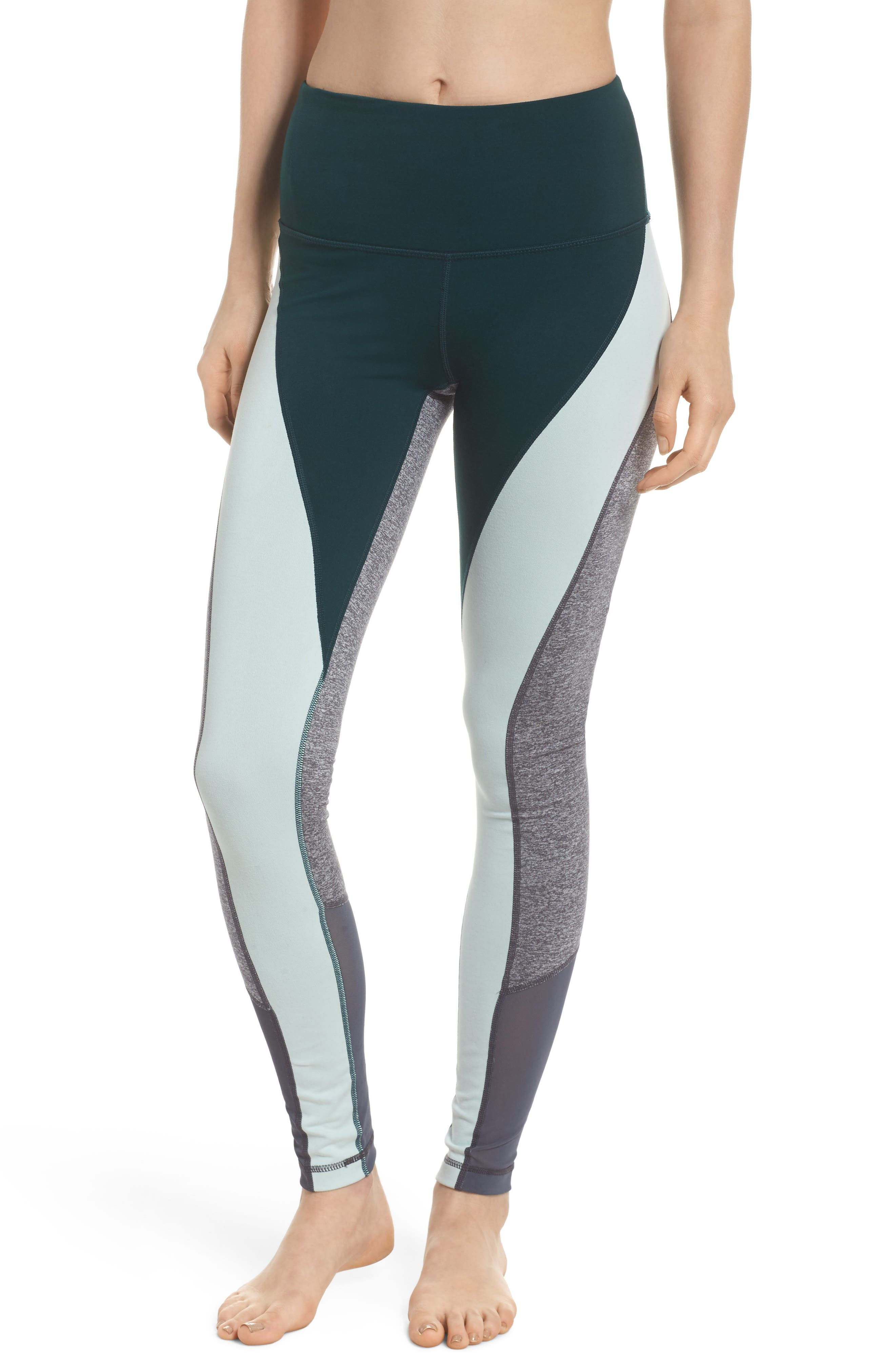 Get in Line High Waist Leggings,                             Main thumbnail 1, color,