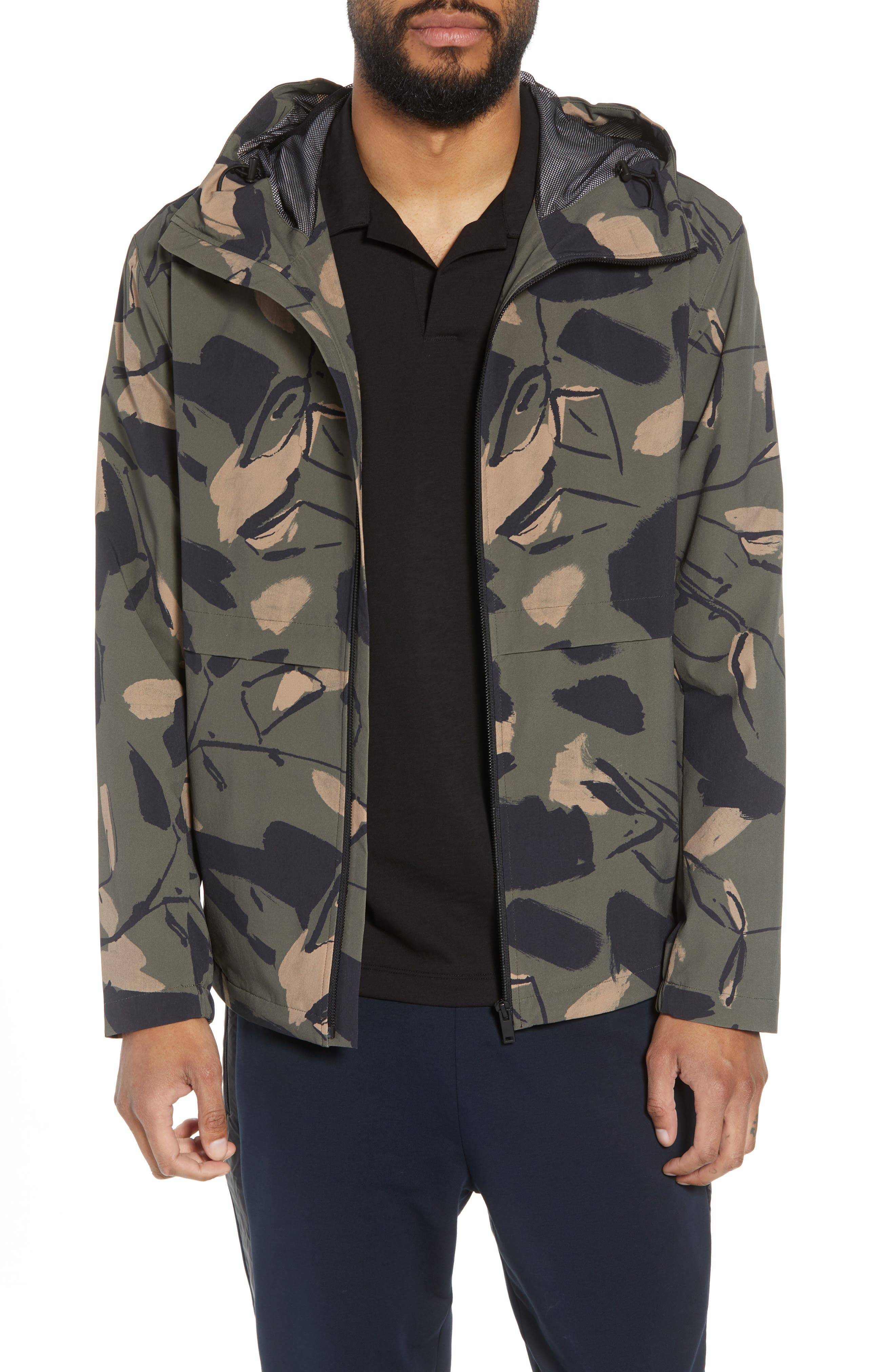 Wright Delfine Hooded Jacket,                             Main thumbnail 1, color,                             399