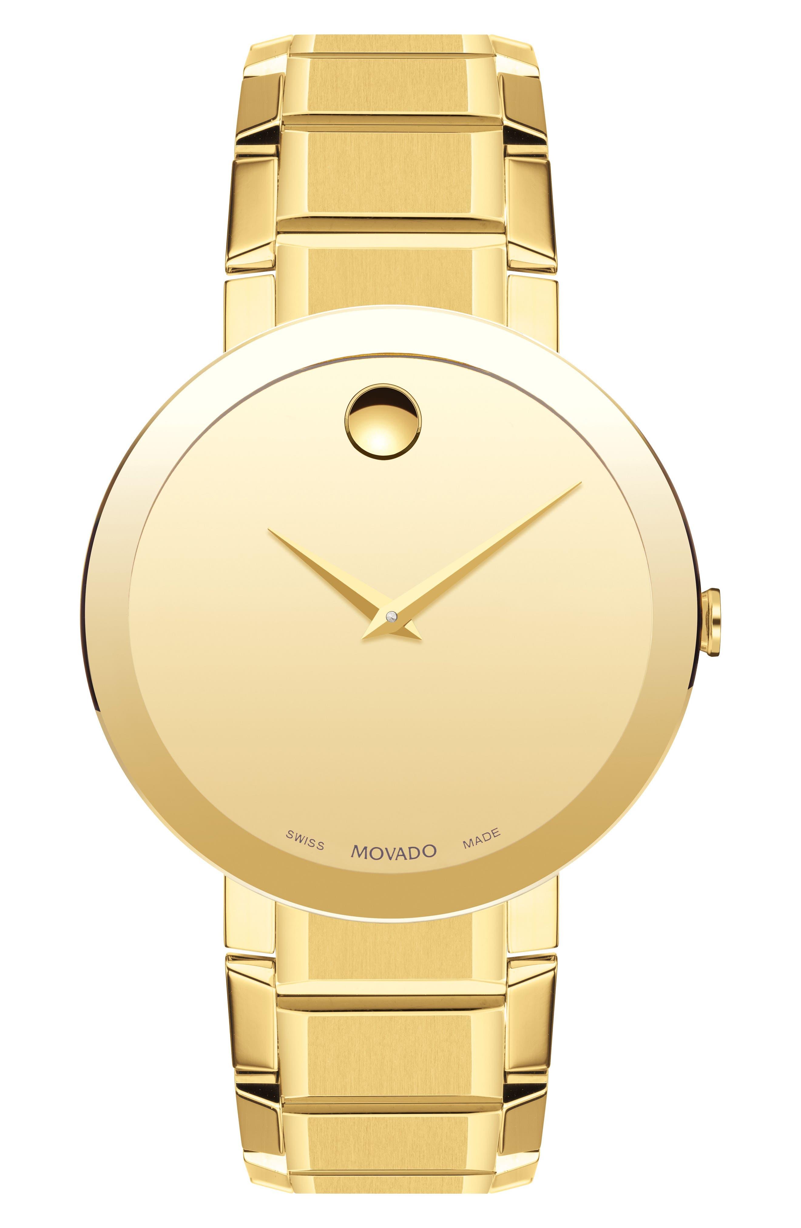 Bold Sport Bracelet Watch, 39mm,                             Main thumbnail 1, color,                             GOLD
