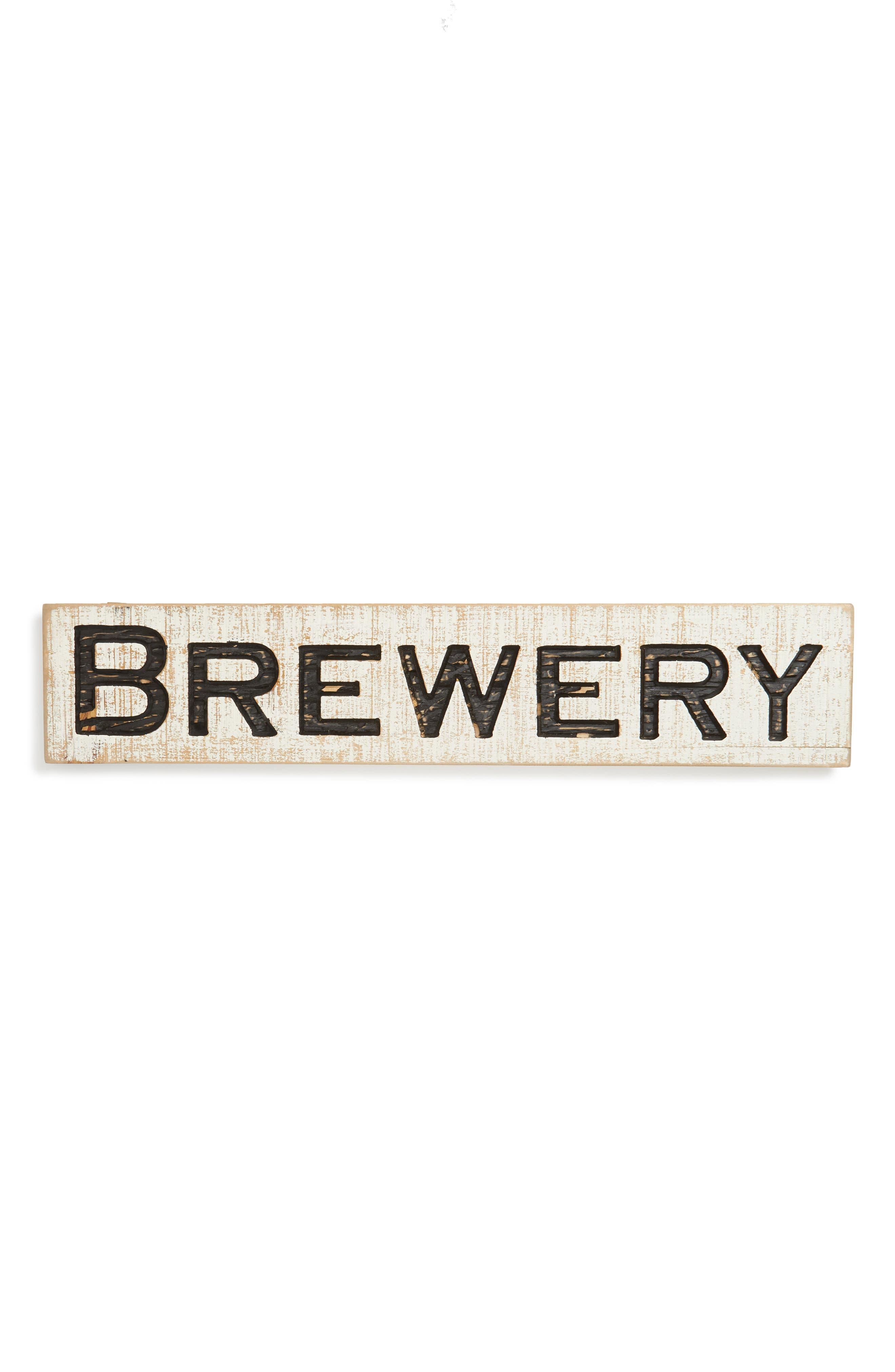 Farmhouse Brewery Sign,                         Main,                         color, 100